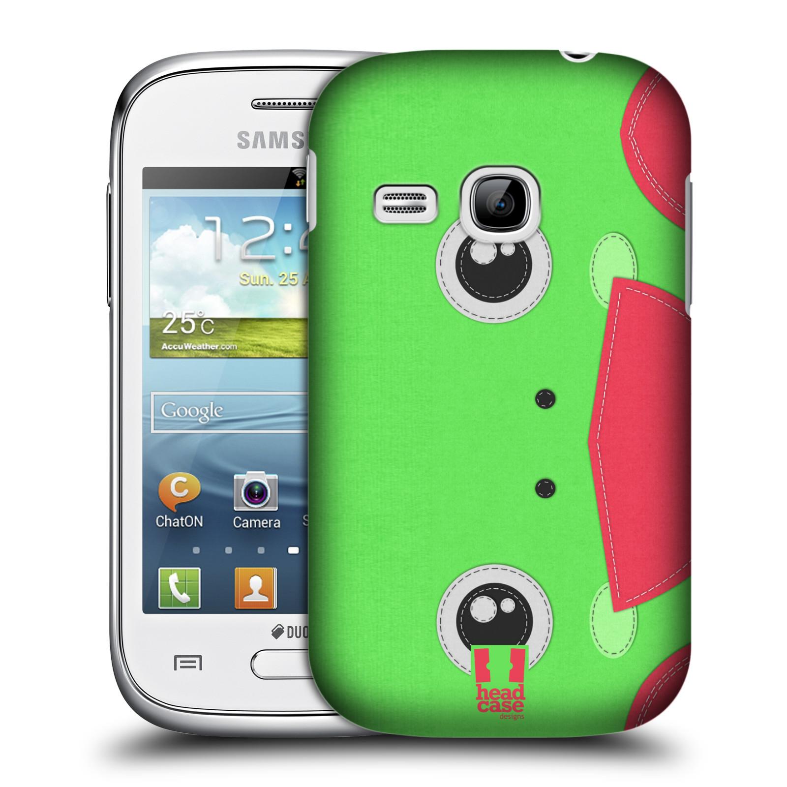 Pouzdro A Obal Na Mobil Head Case Plastov Samsung S6310 Galaxy Young New Vzor Zvec Nivka Ba