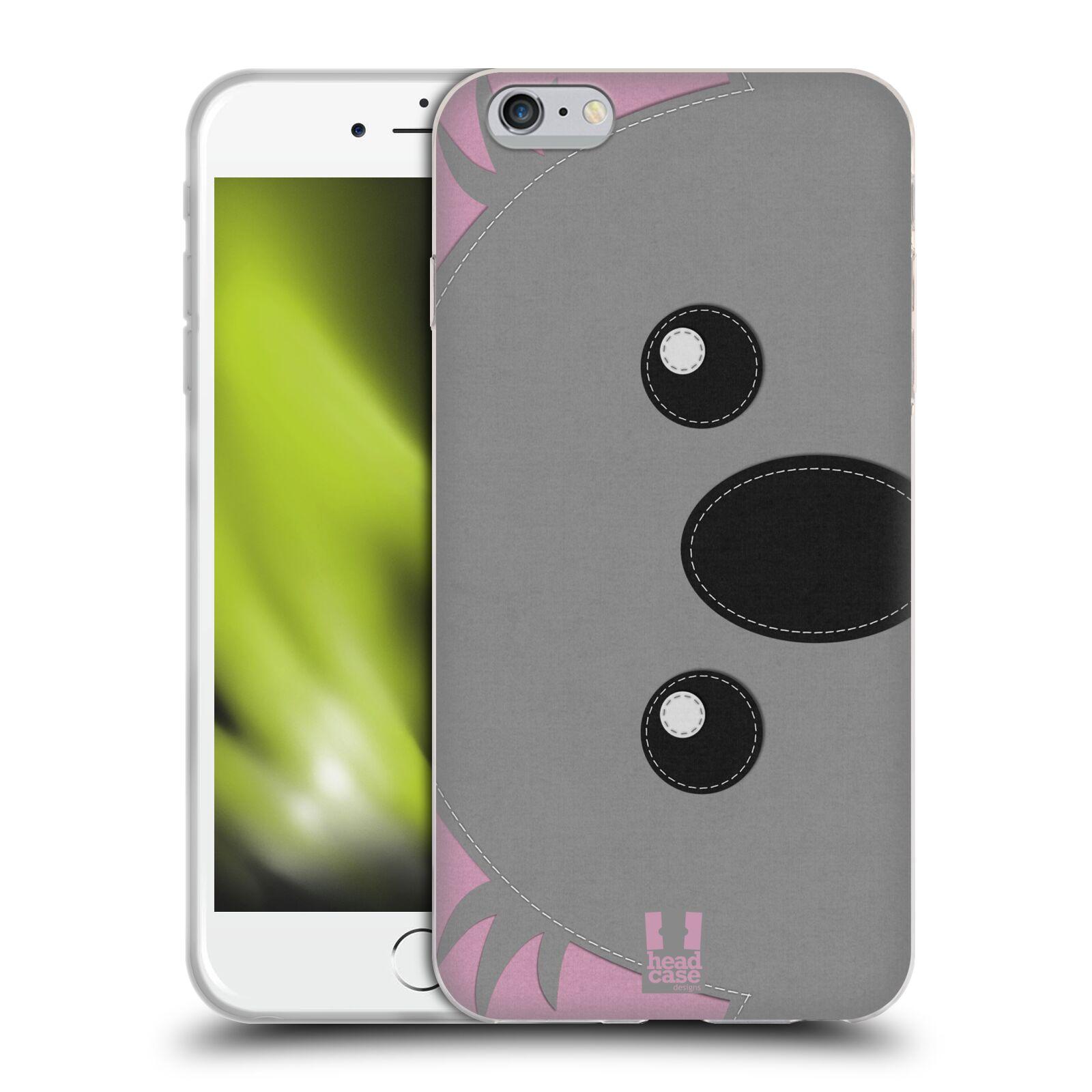 HEAD CASE silikonový obal na mobil Apple Iphone 6 PLUS/ 6S PLUS vzor zvířecí nášivka koala