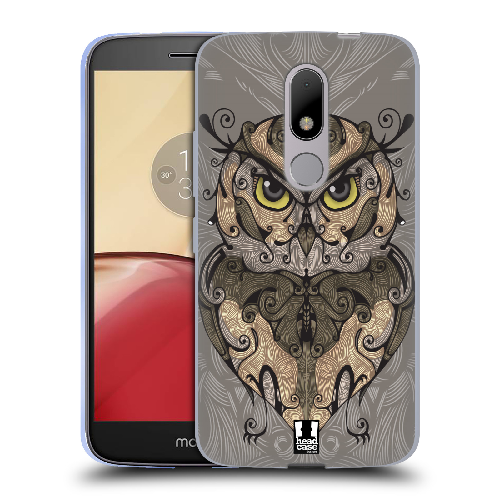 HEAD-CASE-DESIGNS-ANIMAL-SWIRLS-SOFT-GEL-CASE-FOR-MOTOROLA-MOTO-M