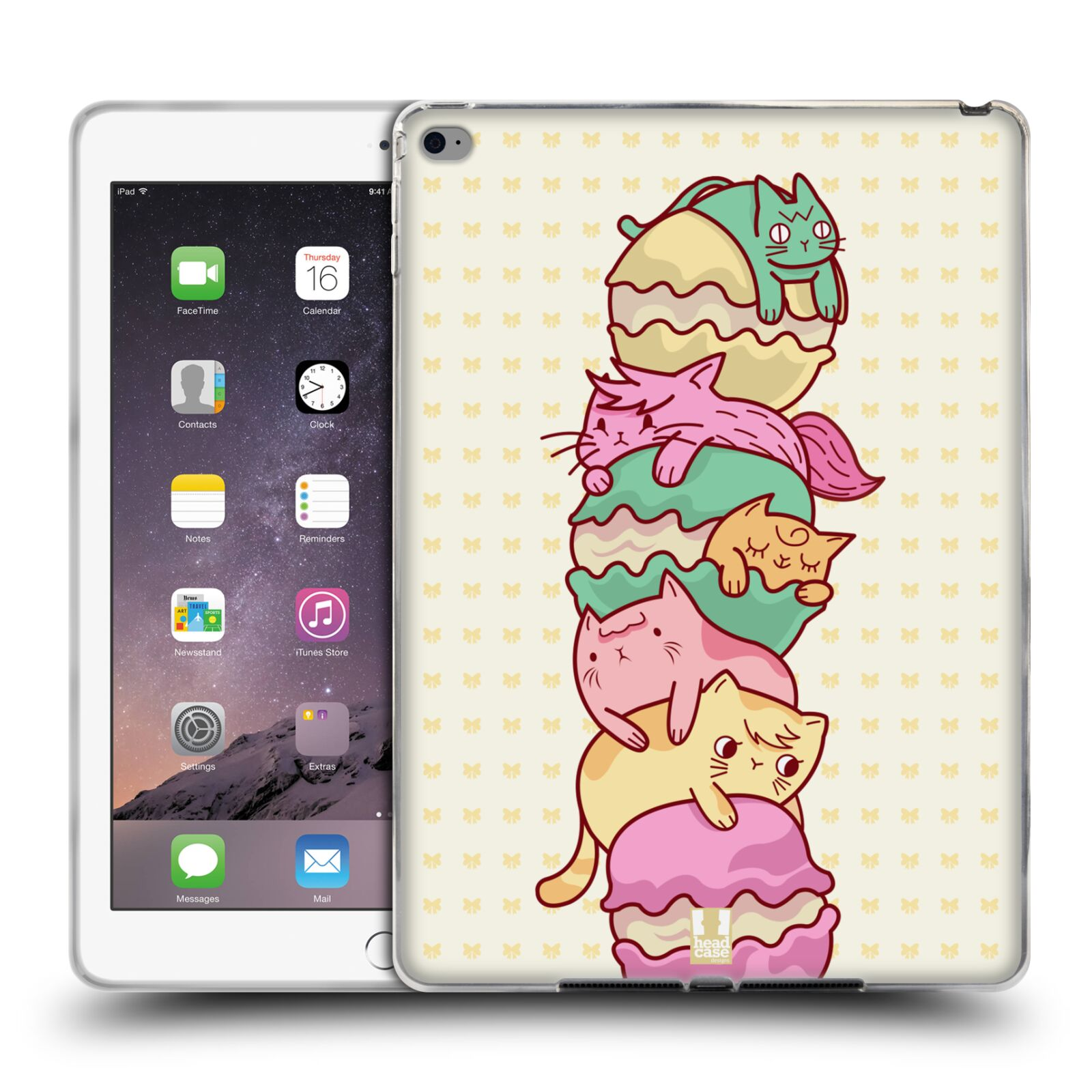 HEAD-CASE-DESIGNS-ANIMAL-TOPPINGS-SOFT-GEL-CASE-FOR-APPLE-SAMSUNG-TABLETS
