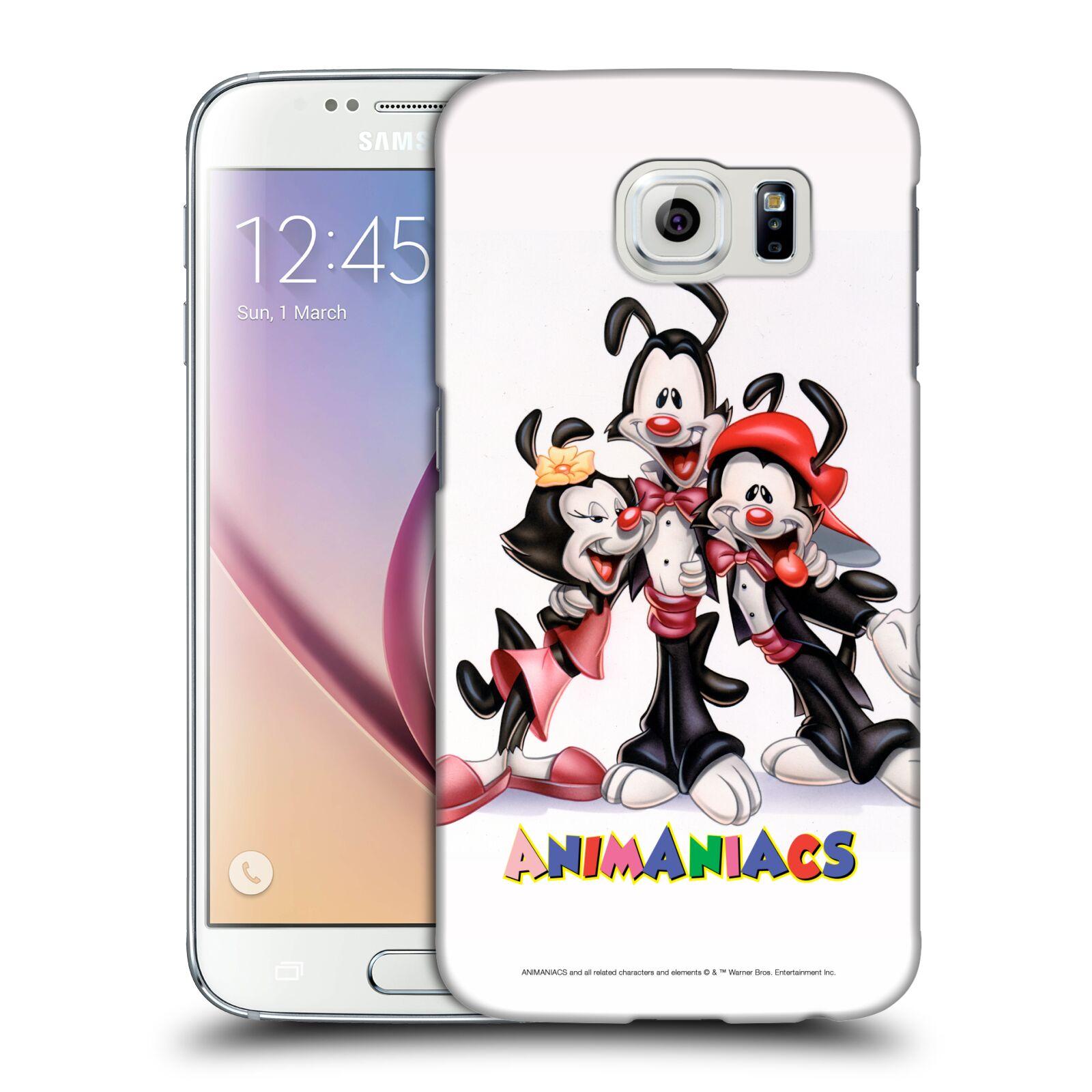 Pouzdro na mobil Samsung Galaxy S6 - HEAD CASE - Animaniacs - Animáci skupina