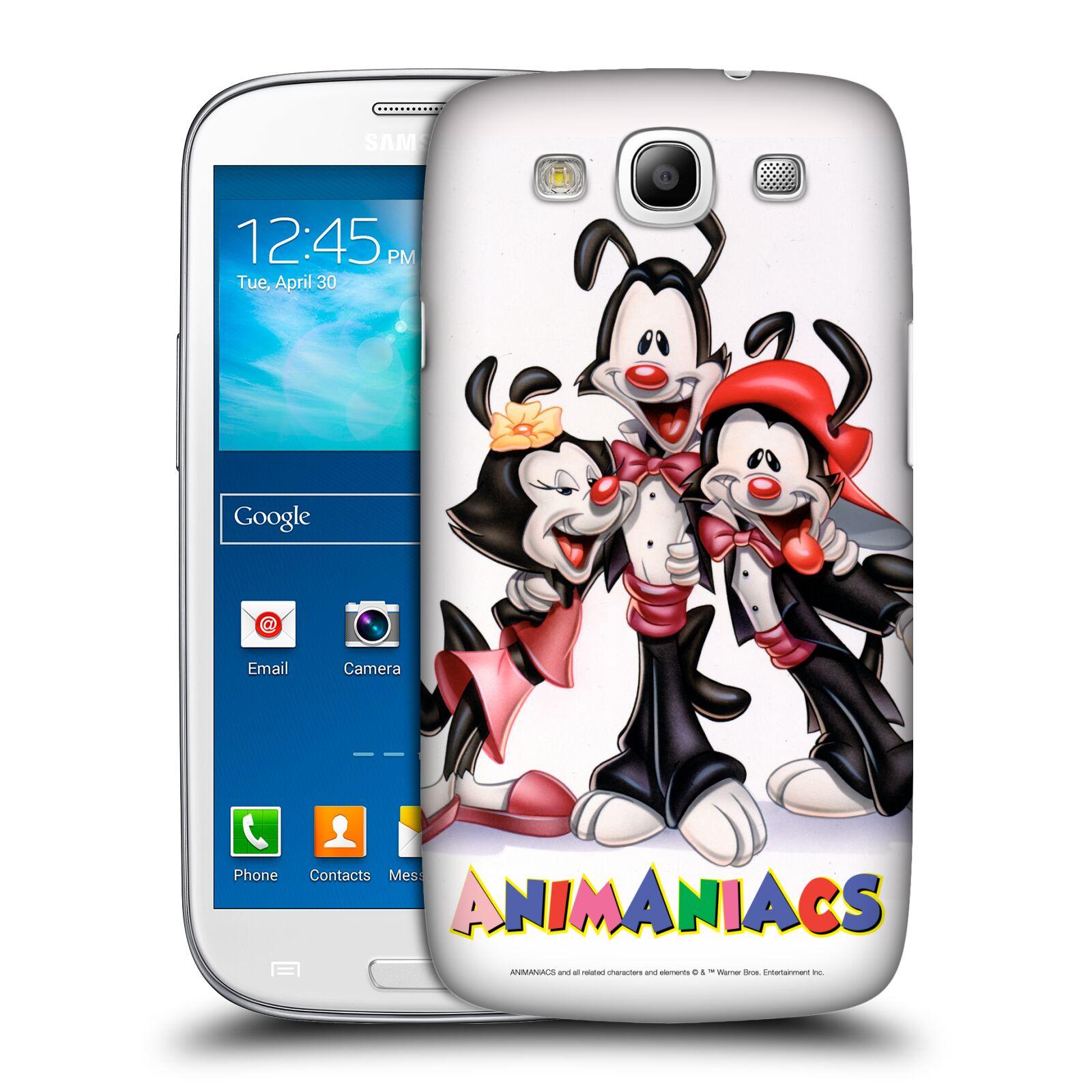 Pouzdro na mobil Samsung Galaxy S3 - HEAD CASE - Animaniacs - Animáci skupina