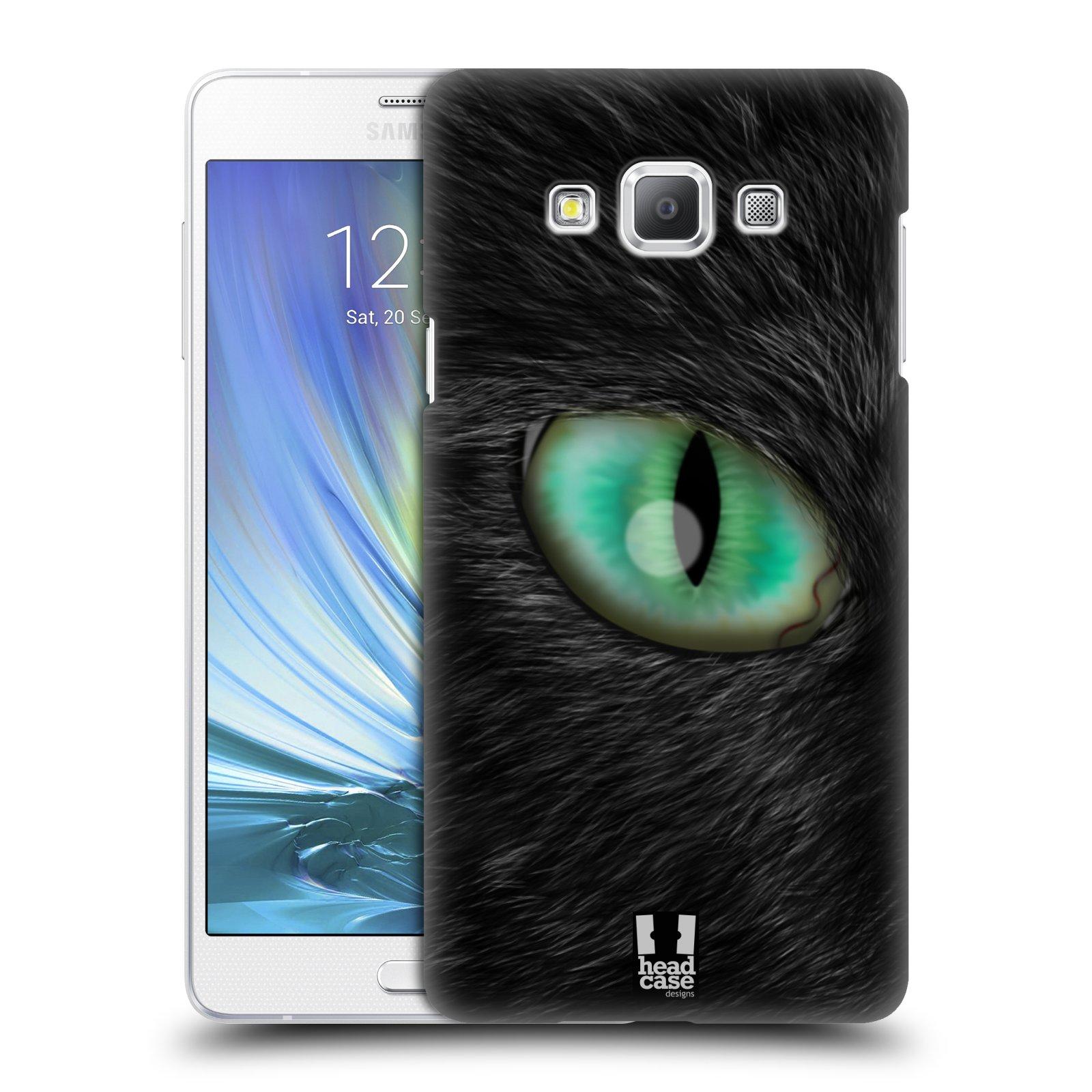 HEAD CASE plastový obal na mobil SAMSUNG GALAXY A7 vzor pohled zvířete oko kočka