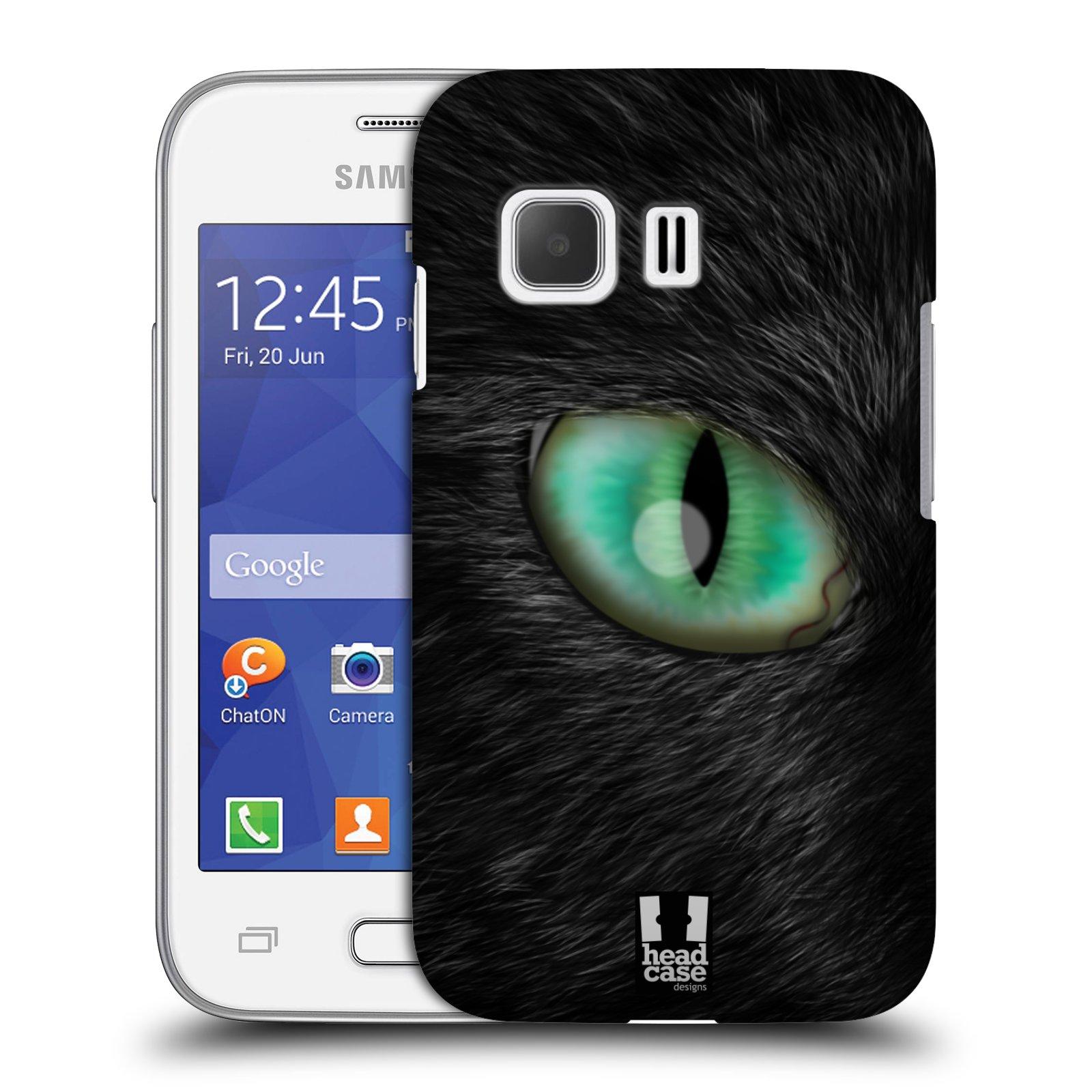 HEAD CASE plastový obal na mobil SAMSUNG Galaxy Young 2 (G130) vzor pohled zvířete oko kočka