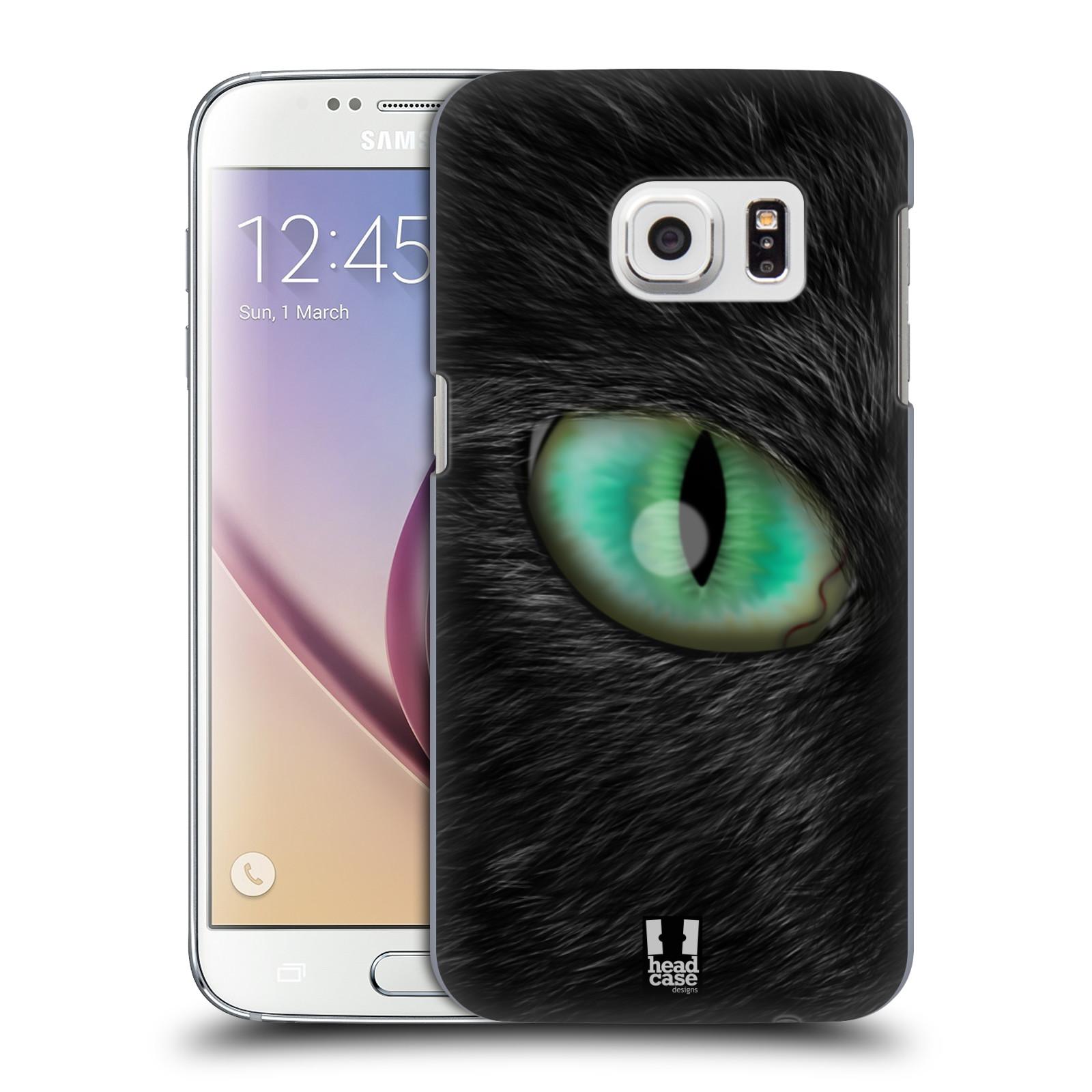 HEAD CASE plastový obal na mobil SAMSUNG GALAXY S7 vzor pohled zvířete oko kočka