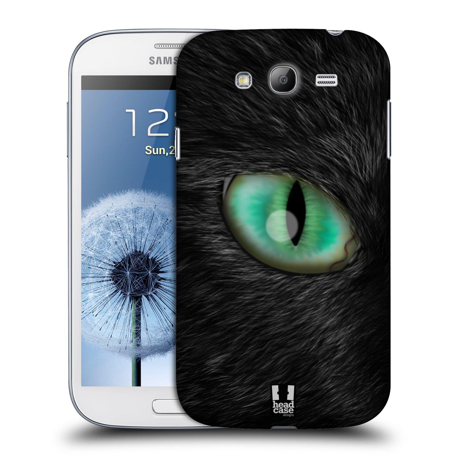 HEAD CASE plastový obal na mobil SAMSUNG GALAXY Grand i9080 vzor pohled zvířete oko kočka