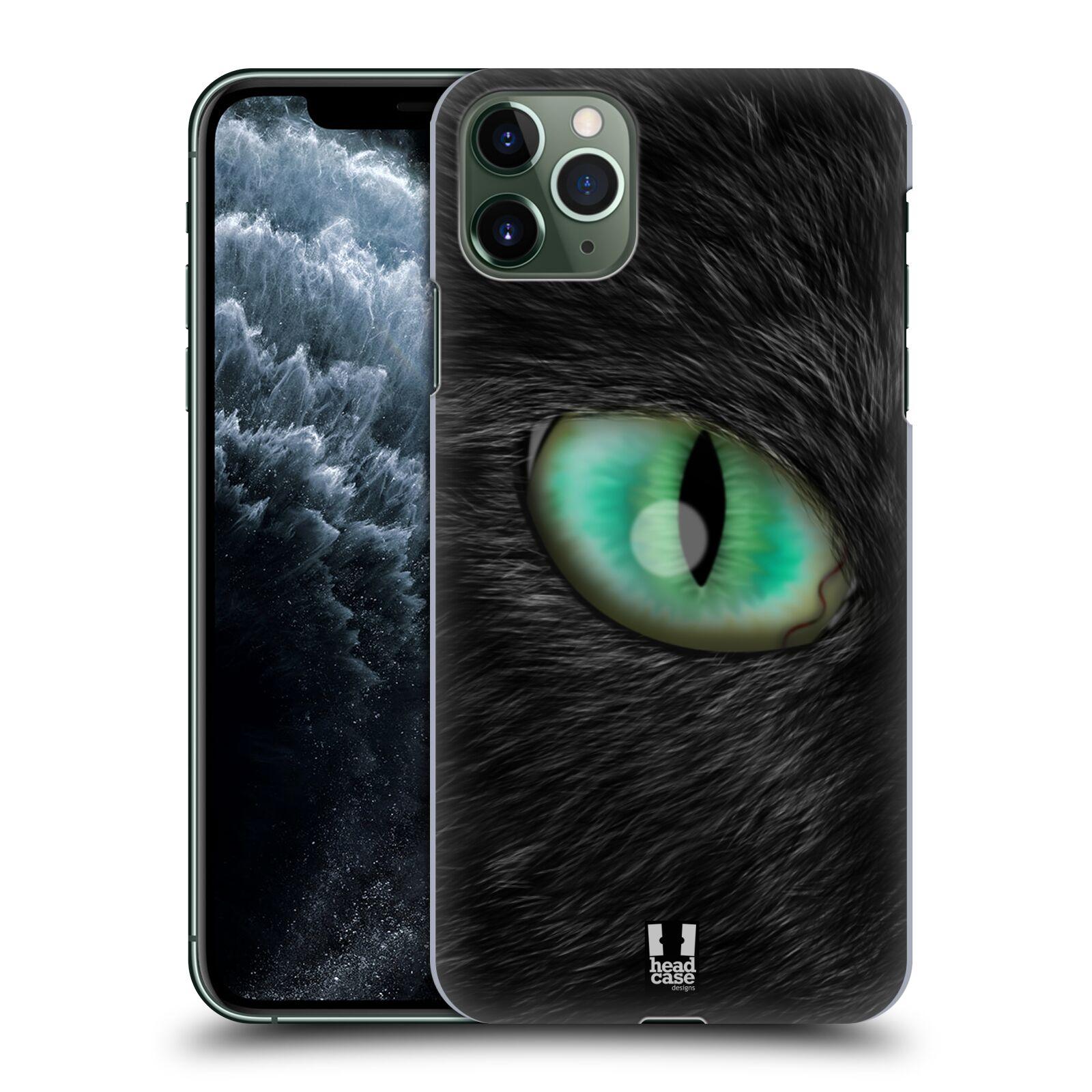 Pouzdro na mobil Apple Iphone 11 PRO MAX - HEAD CASE - vzor pohled zvířete oko kočka