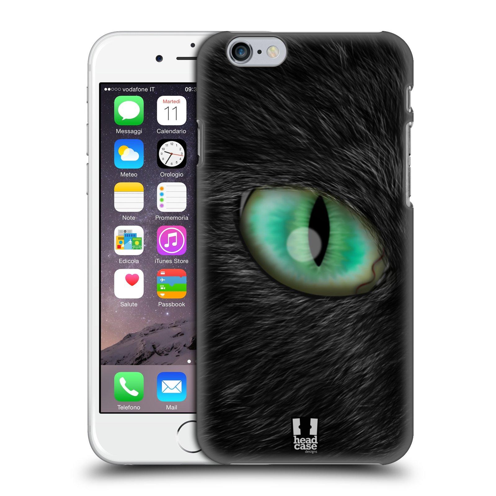 Plastové pouzdro pro mobil Apple Iphone 6/6S vzor pohled zvířete oko kočka