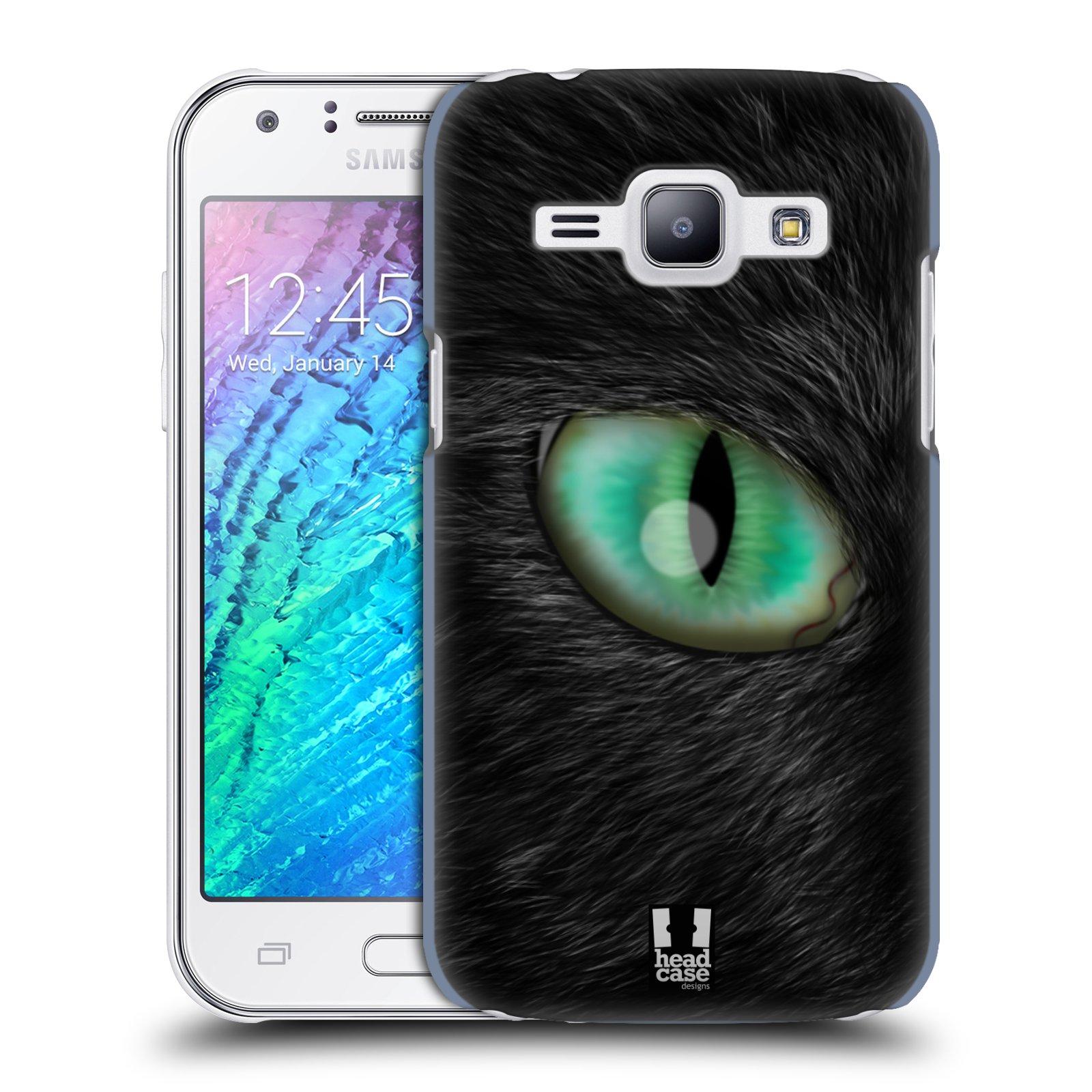 HEAD CASE plastový obal na mobil SAMSUNG Galaxy J1, J100 vzor pohled zvířete oko kočka