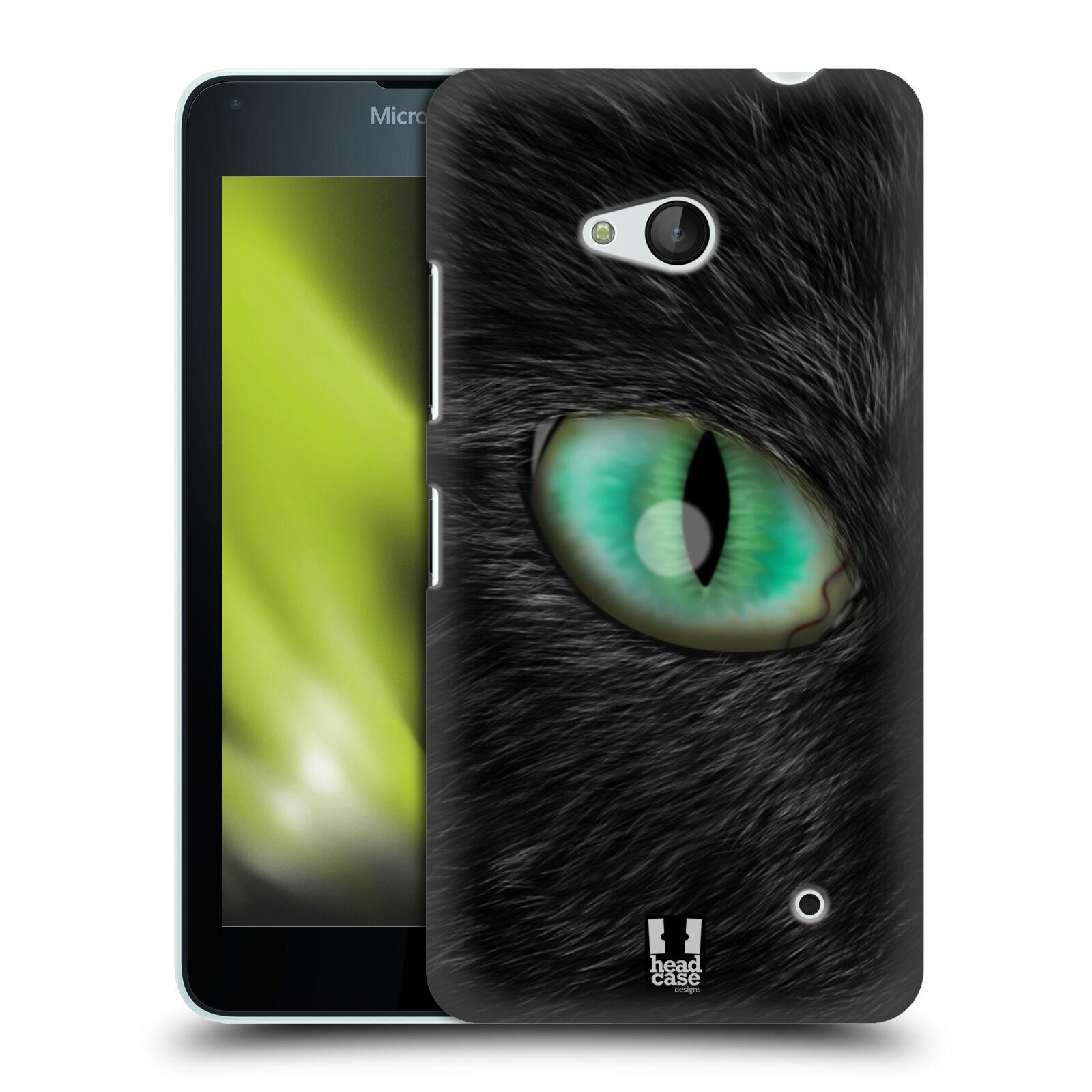 HEAD CASE plastový obal na mobil Nokia Lumia 640 vzor pohled zvířete oko kočka
