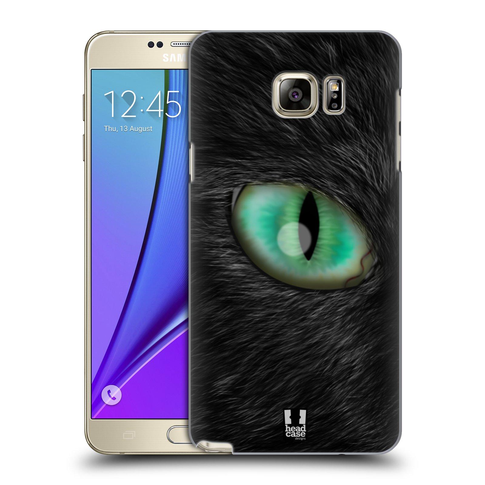HEAD CASE plastový obal na mobil SAMSUNG Galaxy Note 5 (N920) vzor pohled zvířete oko kočka