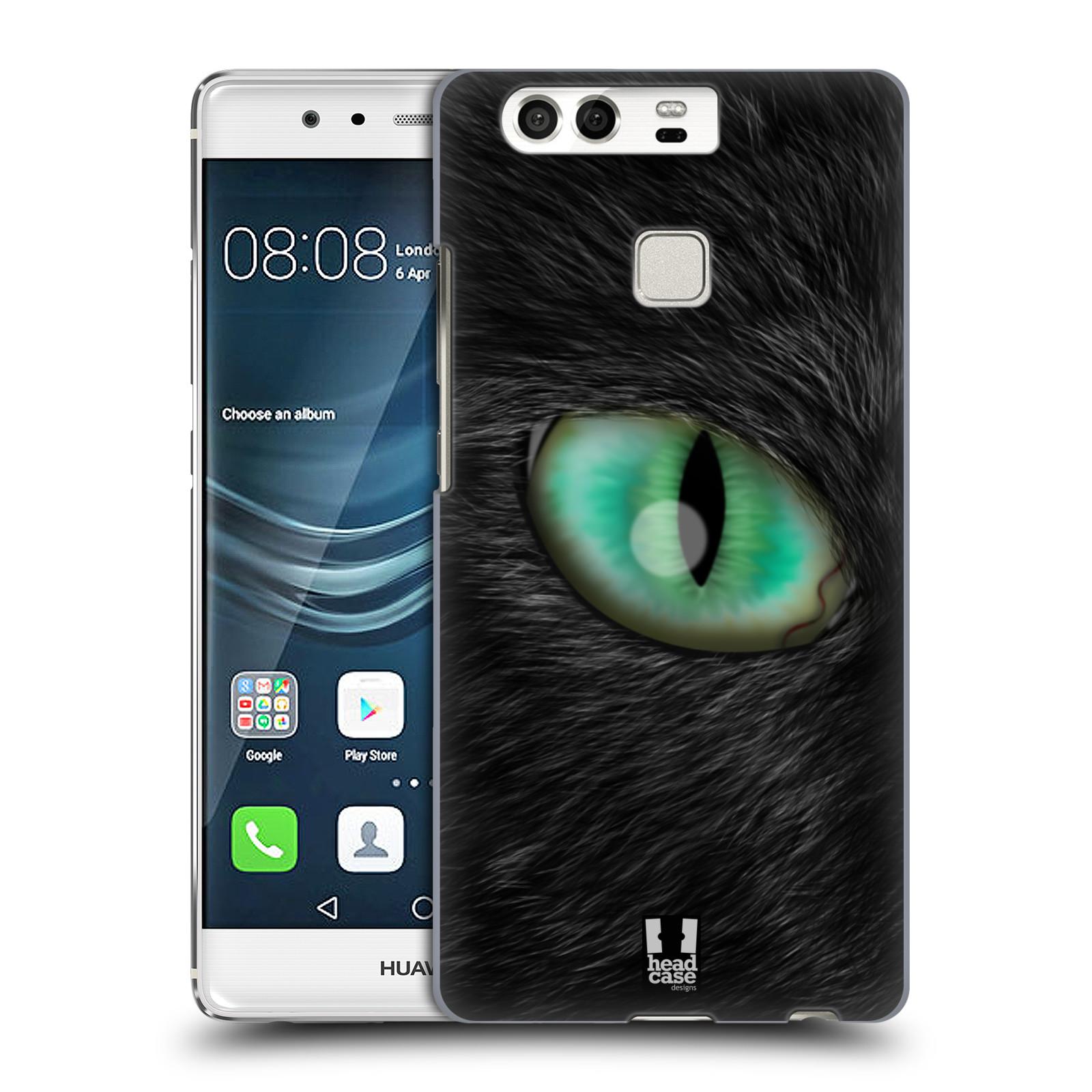 HEAD CASE plastový obal na mobil Huawei P9 / P9 DUAL SIM vzor pohled zvířete oko kočka