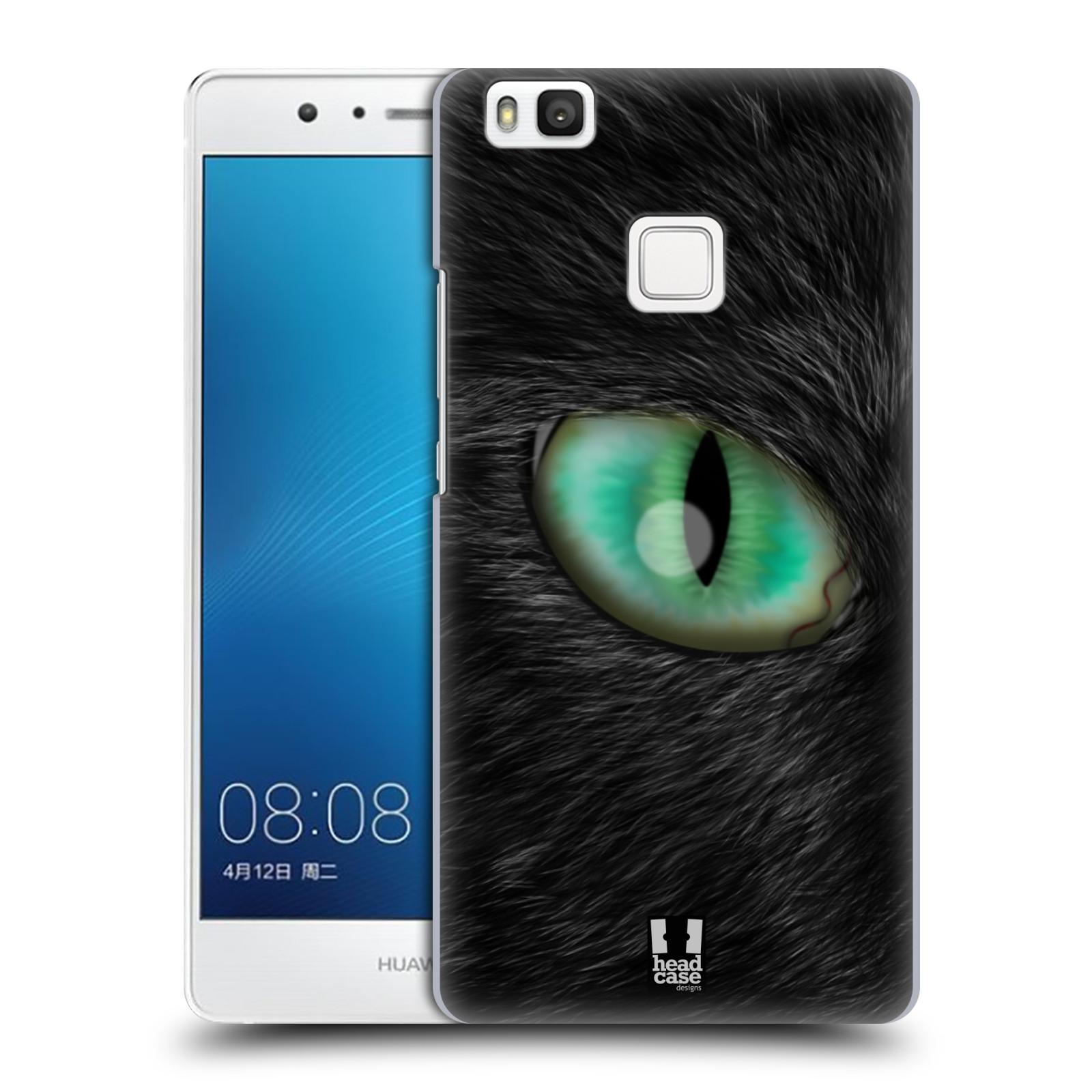 HEAD CASE plastový obal na mobil Huawei P9 LITE / P9 LITE DUAL SIM vzor pohled zvířete oko kočka