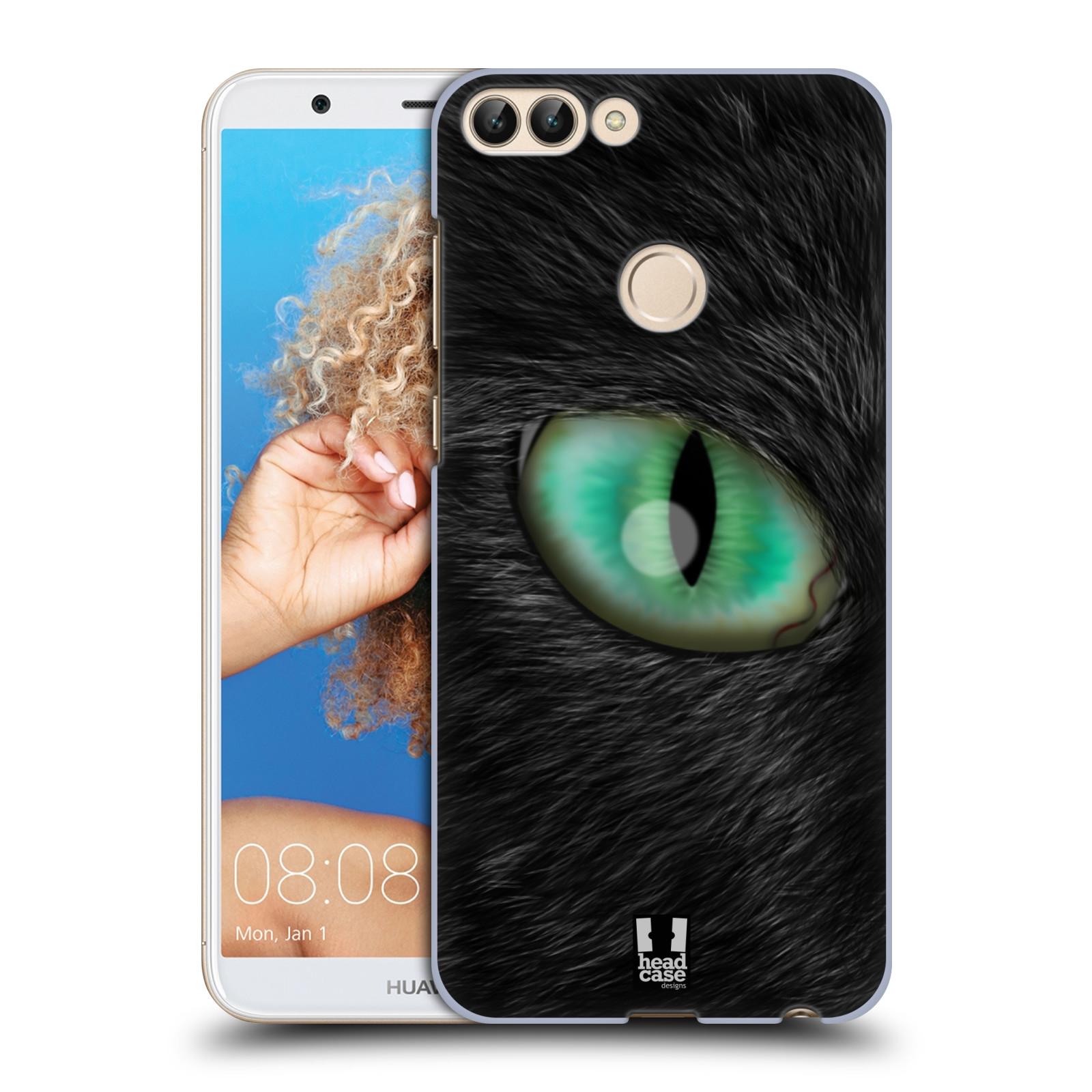 HEAD CASE plastový obal na mobil Huawei P Smart vzor pohled zvířete oko kočka
