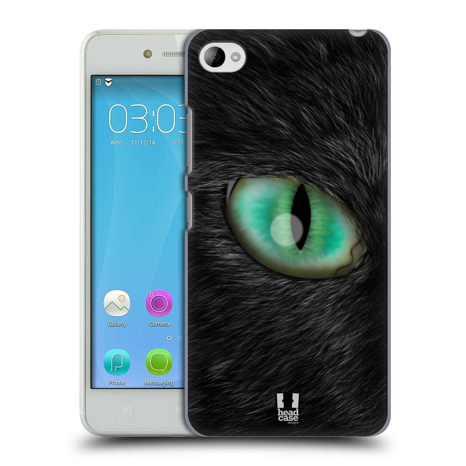 HEAD CASE pevný plastový obal na mobil LENOVO S90 vzor pohled zvířete oko kočka