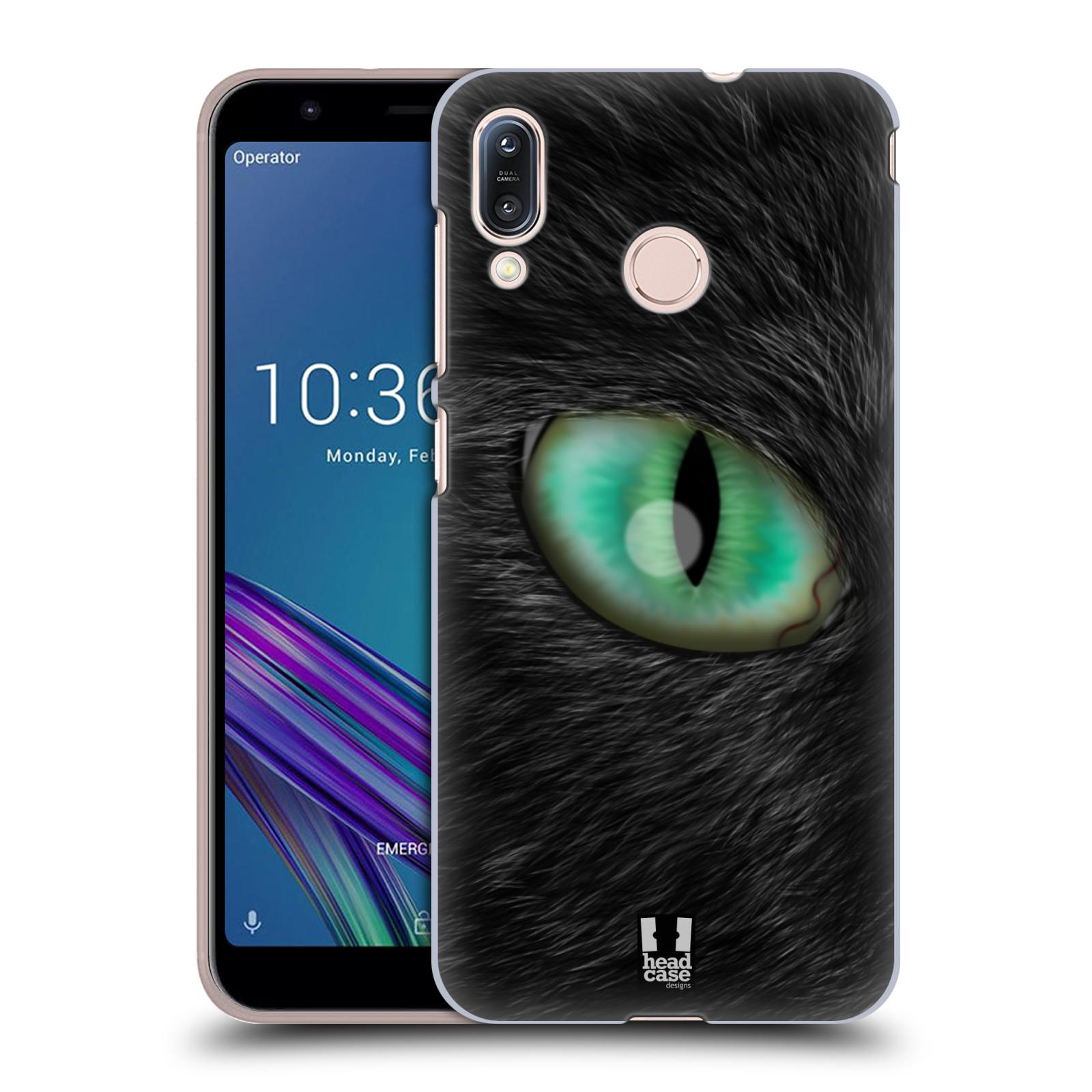 Pouzdro na mobil Asus Zenfone Max M1 (ZB555KL) - HEAD CASE - vzor pohled zvířete oko kočka