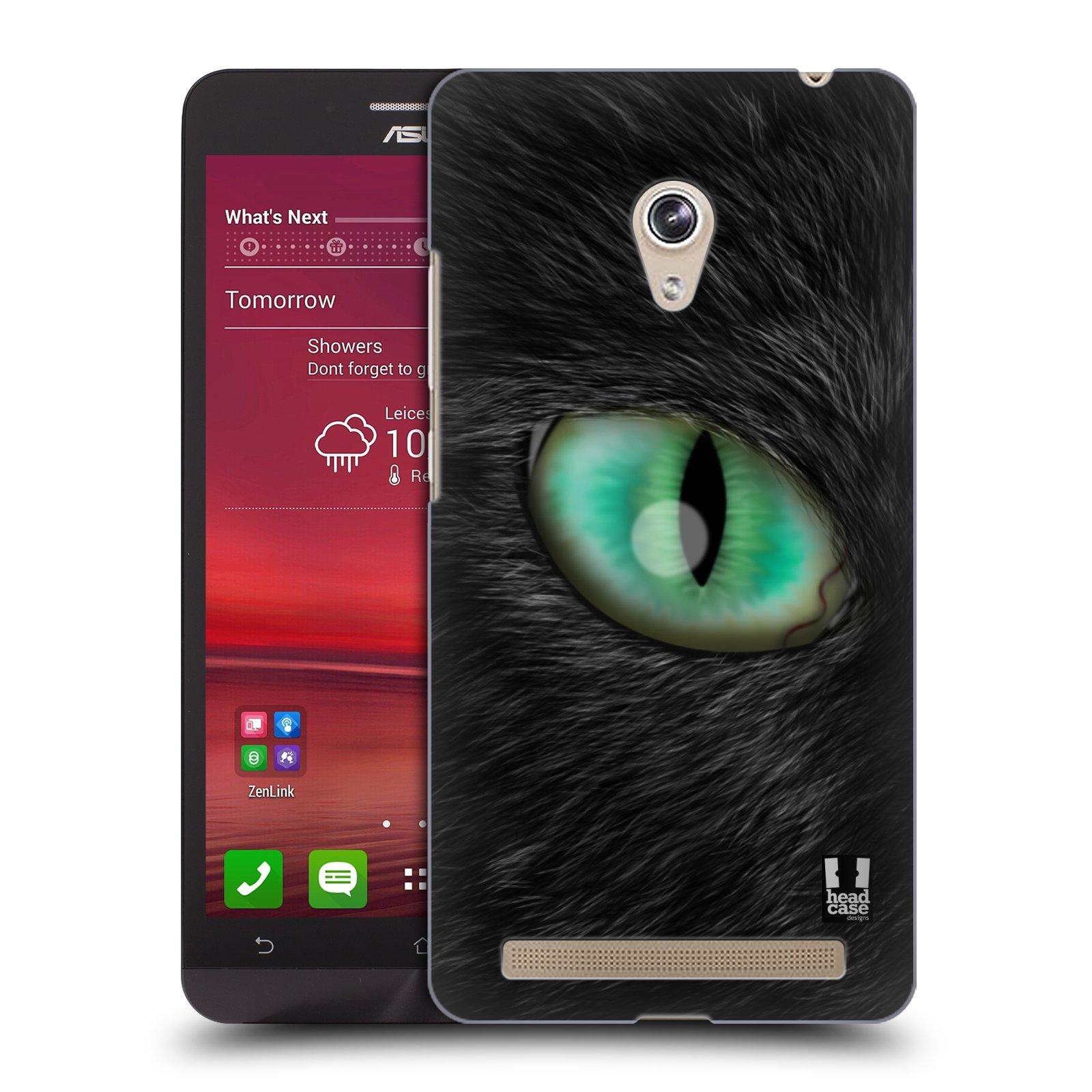HEAD CASE plastový obal na mobil Asus Zenfone 6 vzor pohled zvířete oko kočka