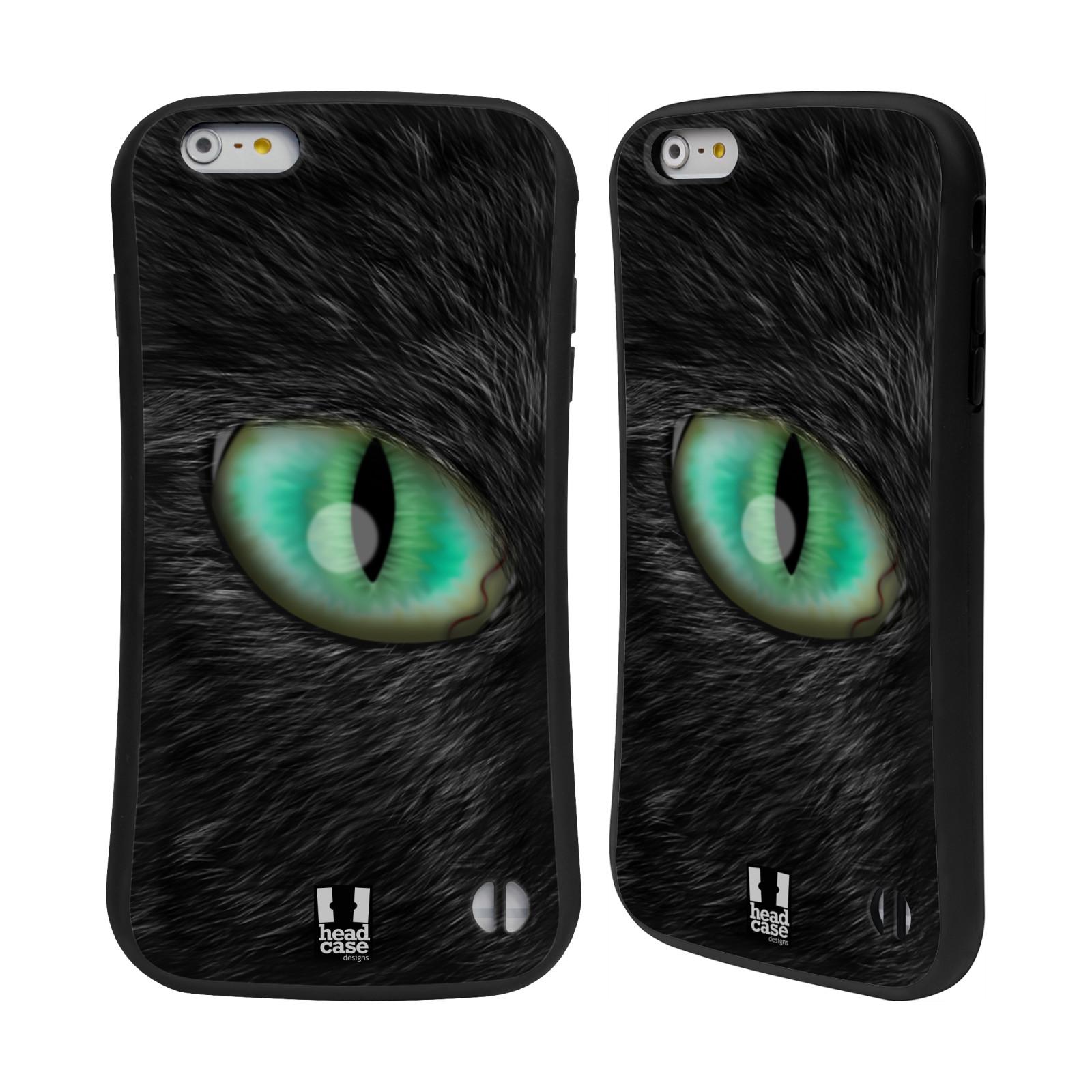HEAD CASE silikon/plast odolný obal na mobil Apple Iphone 6 PLUS / 6S PLUS vzor pohled zvířete oko kočka