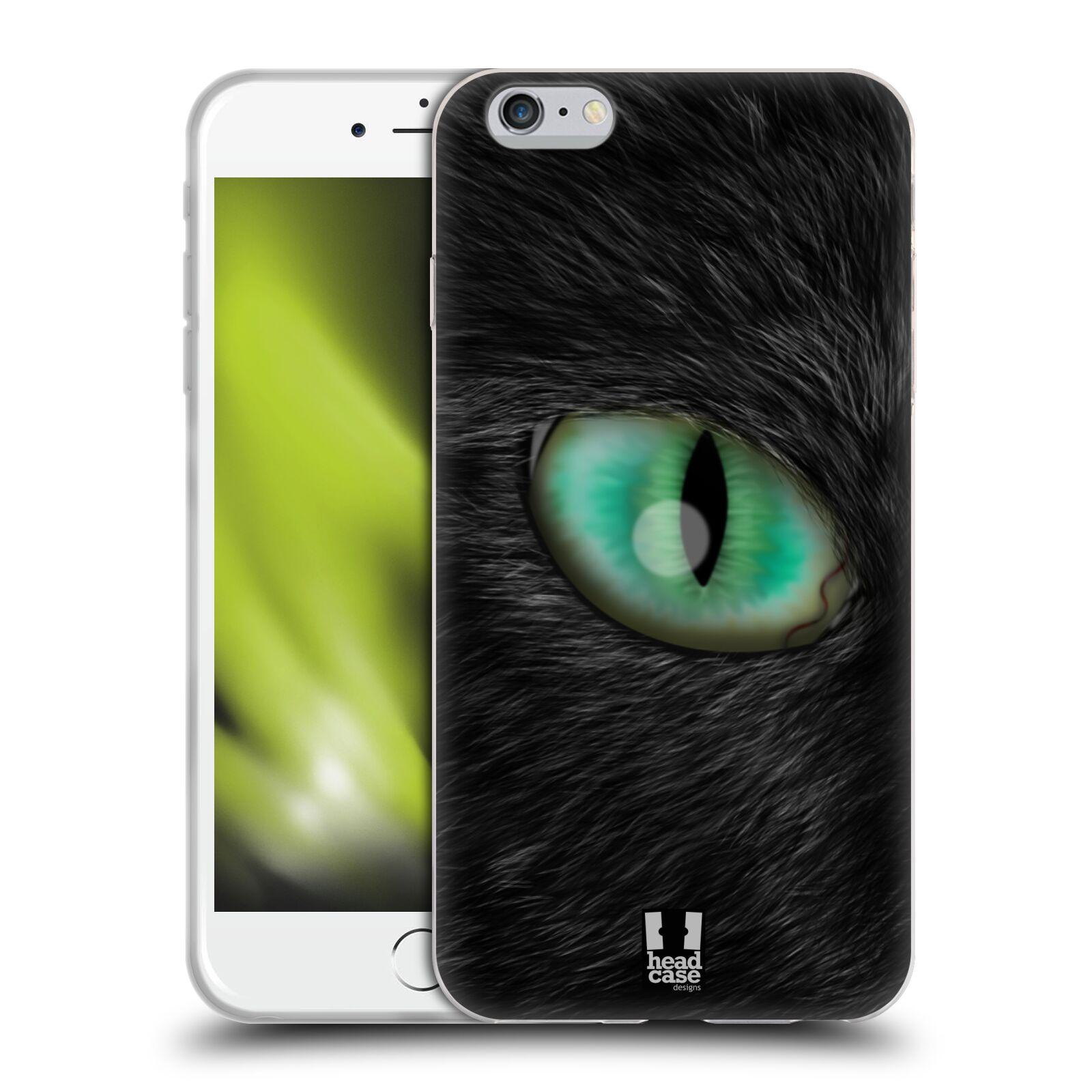 HEAD CASE silikonový obal na mobil Apple Iphone 6 PLUS/ 6S PLUS vzor pohled zvířete oko kočka