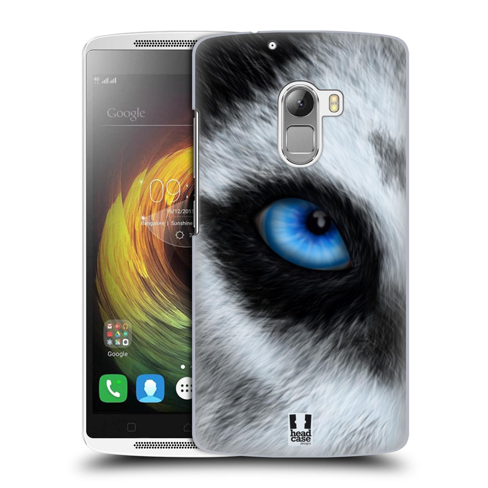 HEAD CASE pevný plastový obal na mobil LENOVO A7010 / A7010 DUAL / K4 Note / Vibe X3 lite vzor pohled zvířete oko pes husky