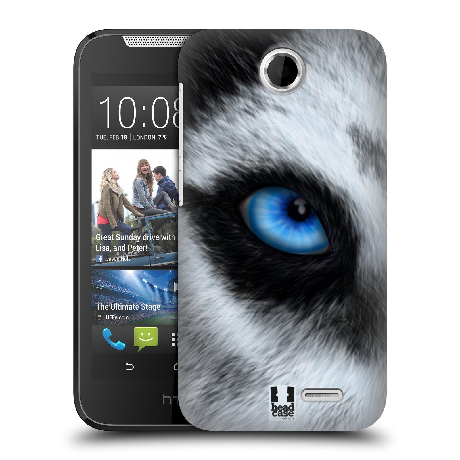HEAD CASE plastový obal na mobil HTC Desire 310 vzor pohled zvířete oko pes husky
