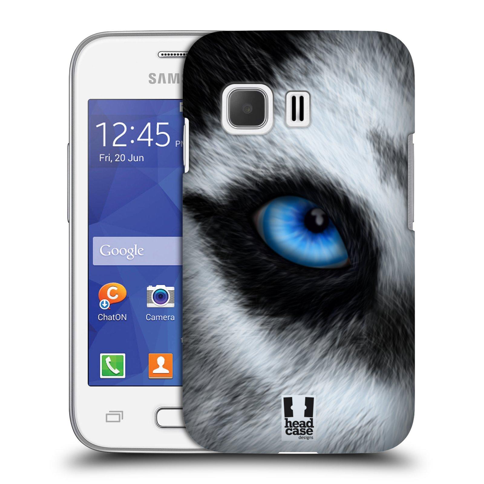 HEAD CASE plastový obal na mobil SAMSUNG Galaxy Young 2 (G130) vzor pohled zvířete oko pes husky
