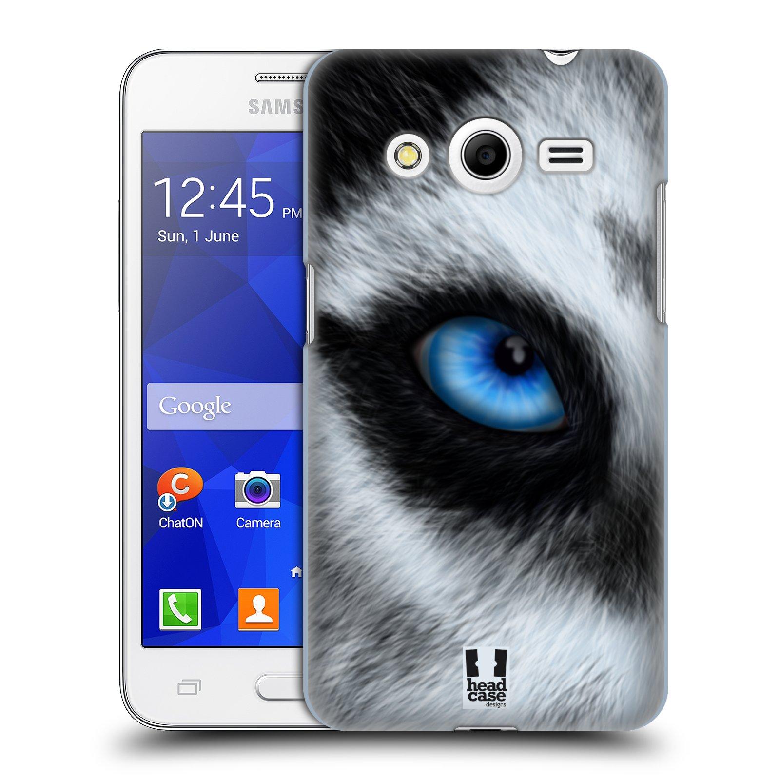 HEAD CASE plastový obal na mobil SAMSUNG GALAXY Core 2 (G355H) vzor pohled zvířete oko pes husky