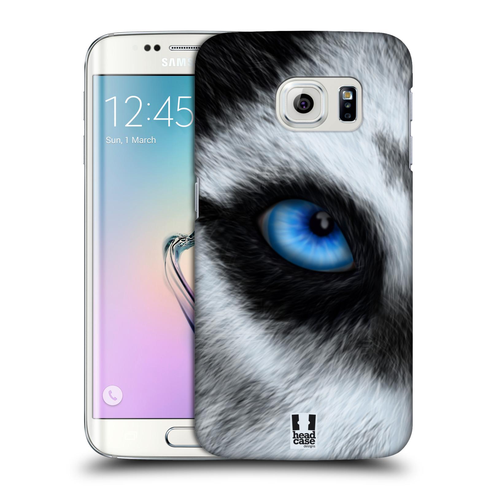 HEAD CASE plastový obal na mobil SAMSUNG Galaxy S6 EDGE (G9250, G925, G925F) vzor pohled zvířete oko pes husky