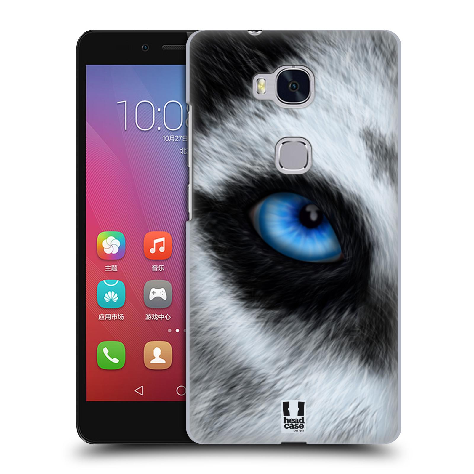 HEAD CASE pevný plastový obal na mobil HUAWEI HONOR 5X vzor pohled zvířete oko pes husky