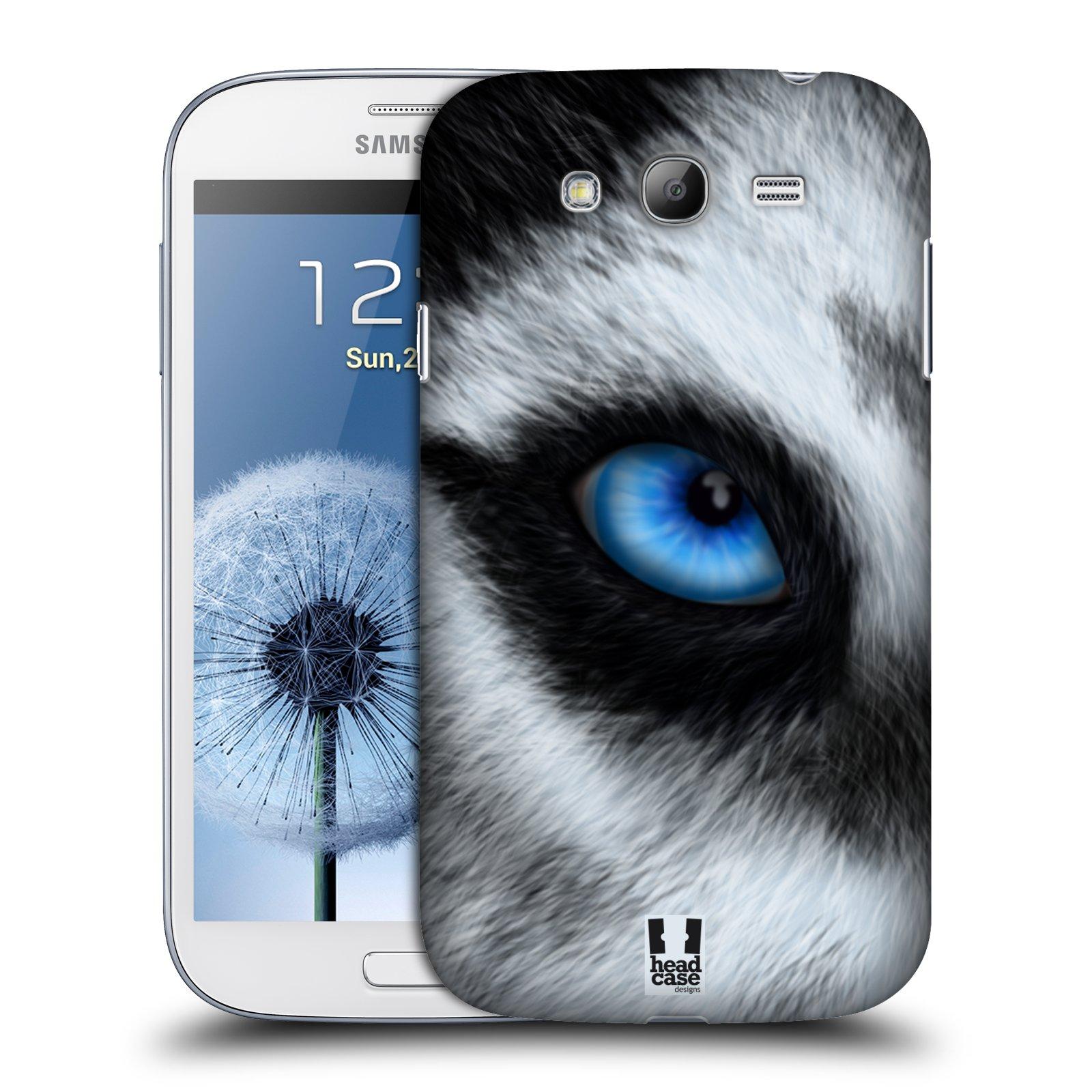 HEAD CASE plastový obal na mobil SAMSUNG GALAXY Grand i9080 vzor pohled zvířete oko pes husky