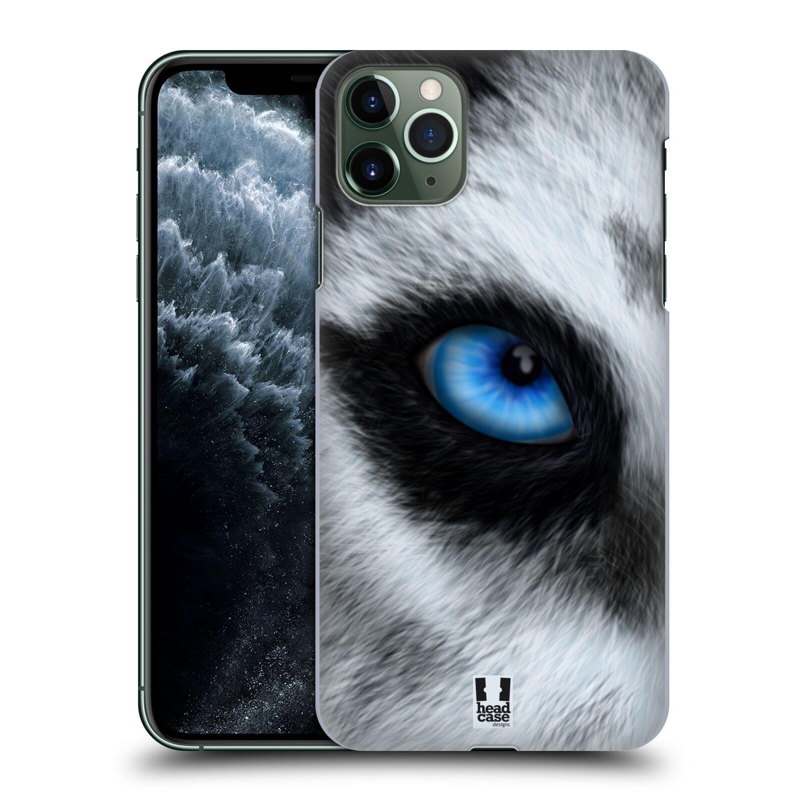 Pouzdro na mobil Apple Iphone 11 PRO MAX - HEAD CASE - vzor pohled zvířete oko pes husky