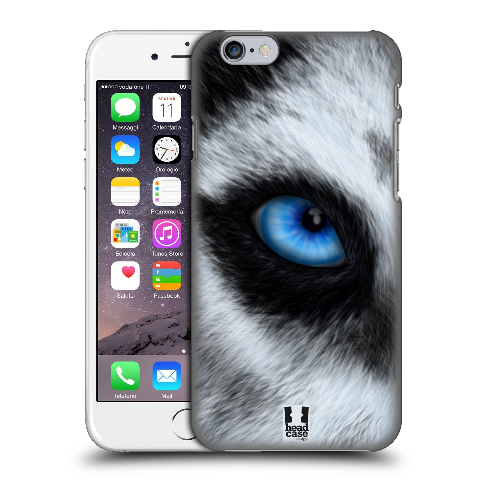 Plastové pouzdro pro mobil Apple Iphone 6/6S vzor pohled zvířete oko pes husky