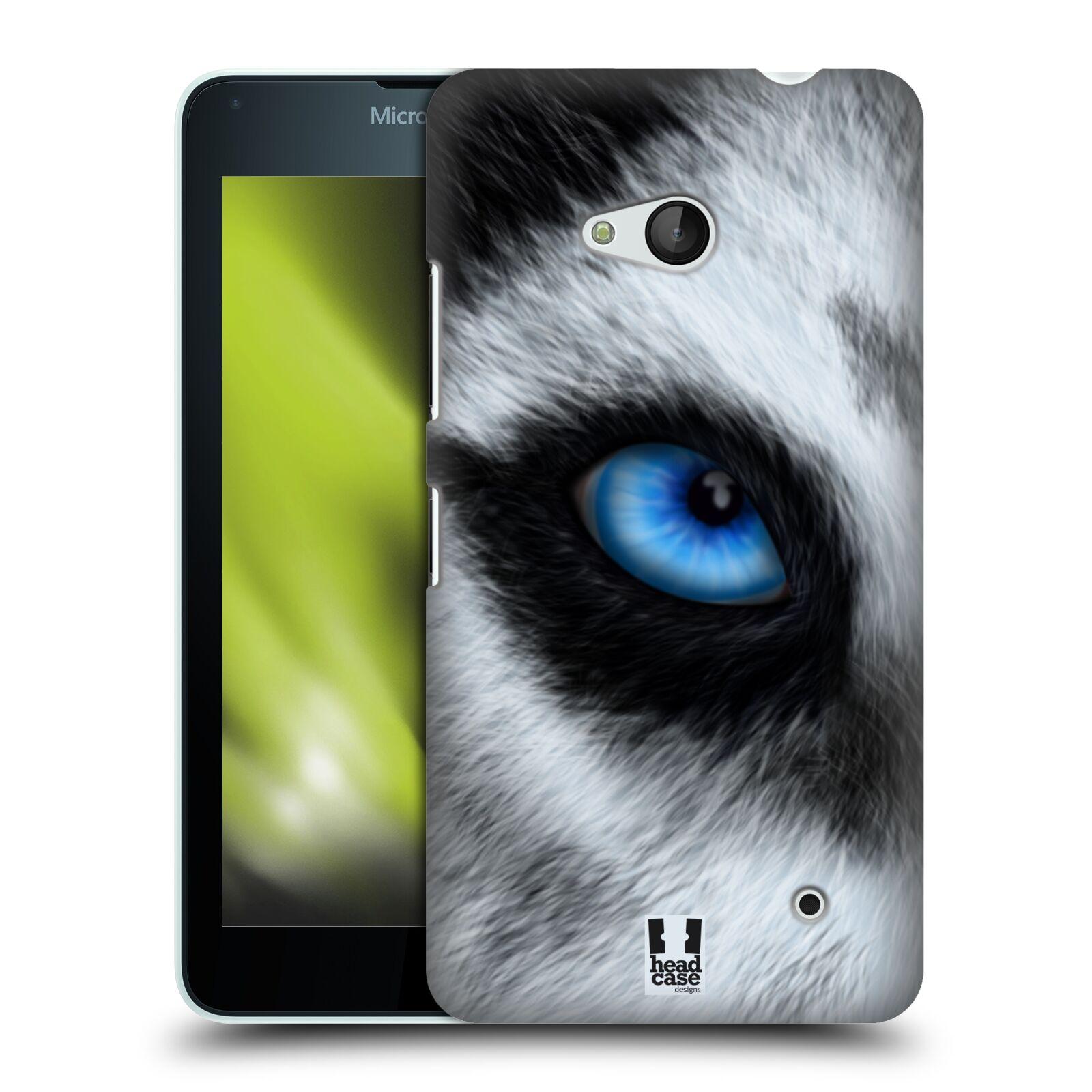 HEAD CASE plastový obal na mobil Nokia Lumia 640 vzor pohled zvířete oko pes husky
