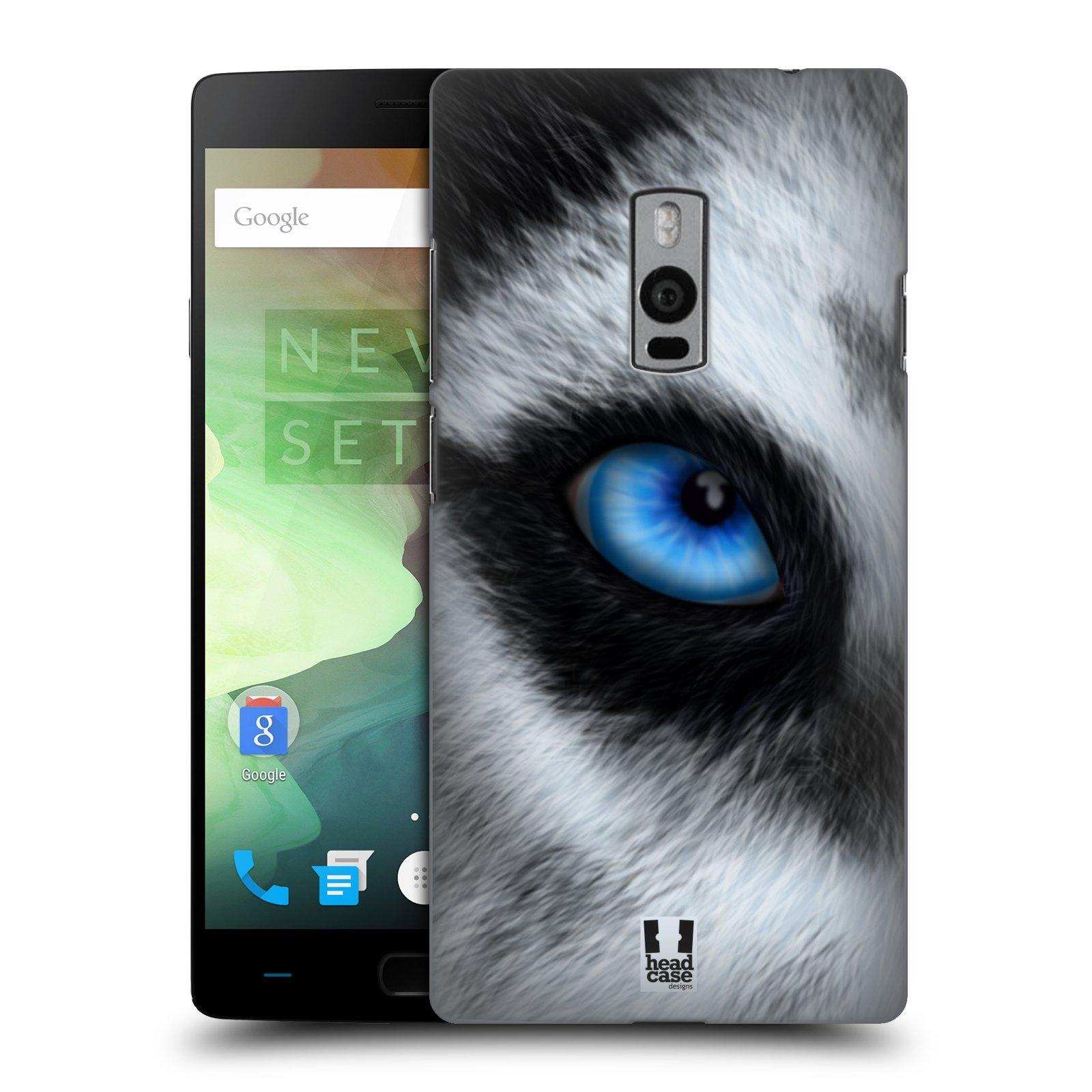 HEAD CASE pevný plastový obal na mobil OnePlus 2  ( TWO ) vzor pohled zvířete oko pes husky