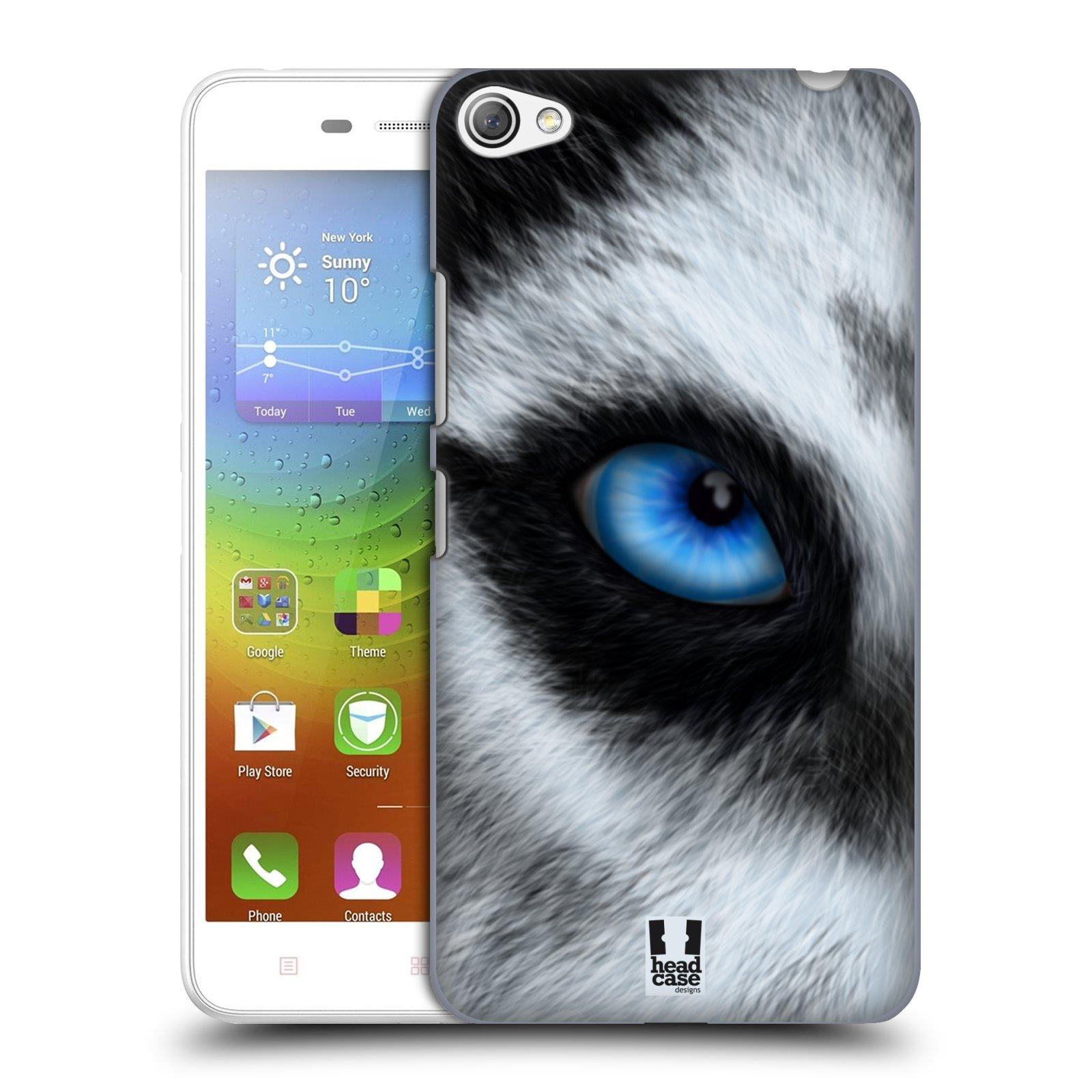 HEAD CASE pevný plastový obal na mobil LENOVO S60 / LENOVO S60 DUAL SIM vzor pohled zvířete oko pes husky