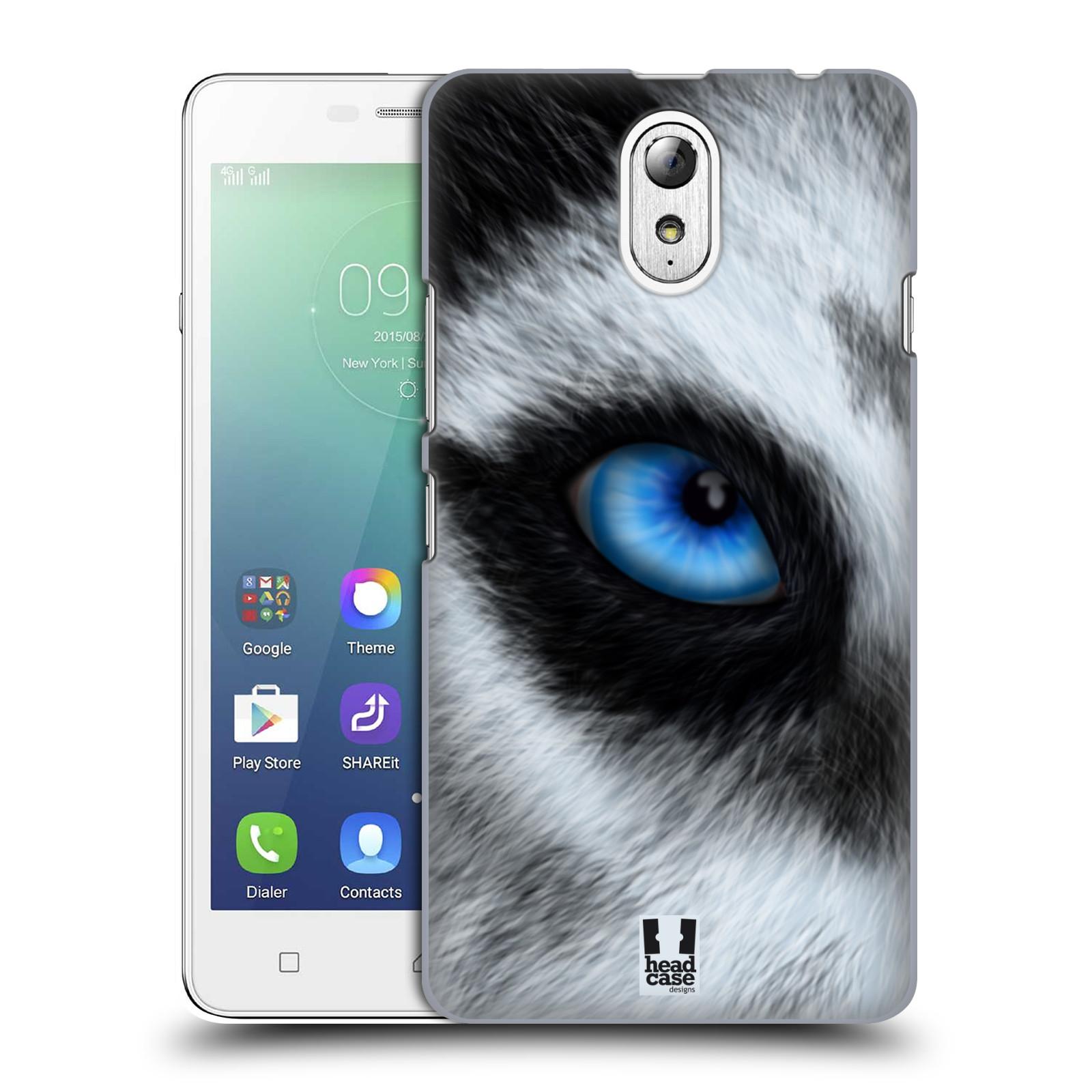HEAD CASE pevný plastový obal na mobil LENOVO VIBE P1m / LENOVO VIBE p1m DUAL SIM vzor pohled zvířete oko pes husky