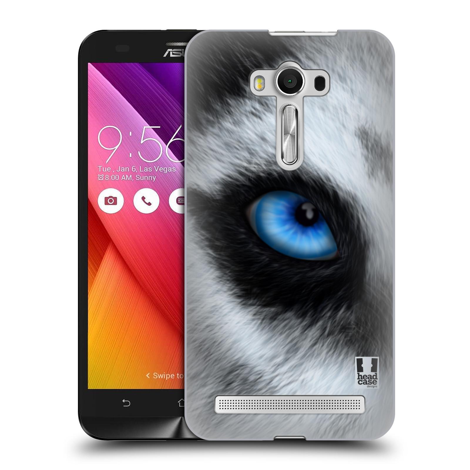 HEAD CASE plastový obal na mobil Asus Zenfone 2 LASER (5,5 displej ZE550KL) vzor pohled zvířete oko pes husky