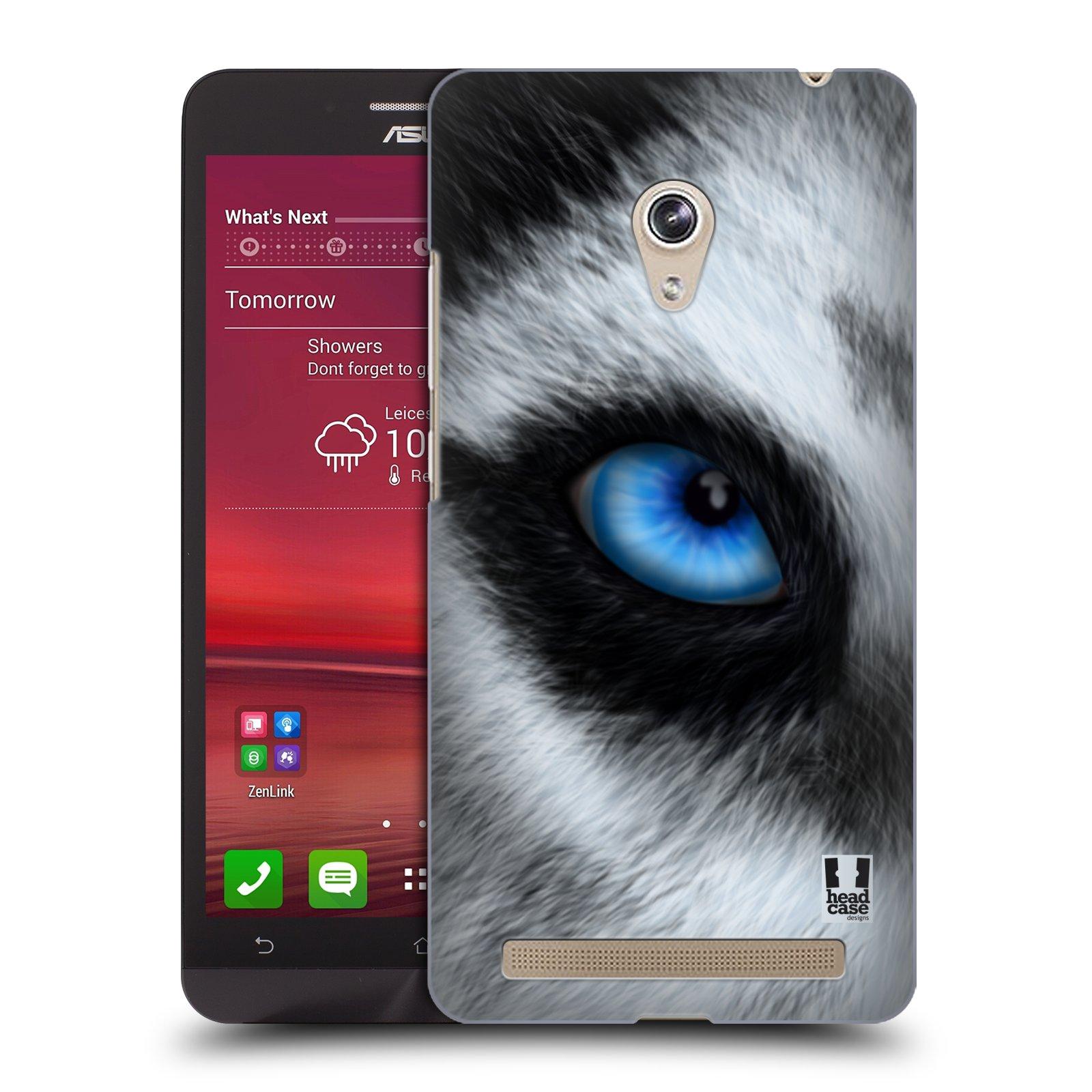 HEAD CASE plastový obal na mobil Asus Zenfone 6 vzor pohled zvířete oko pes husky