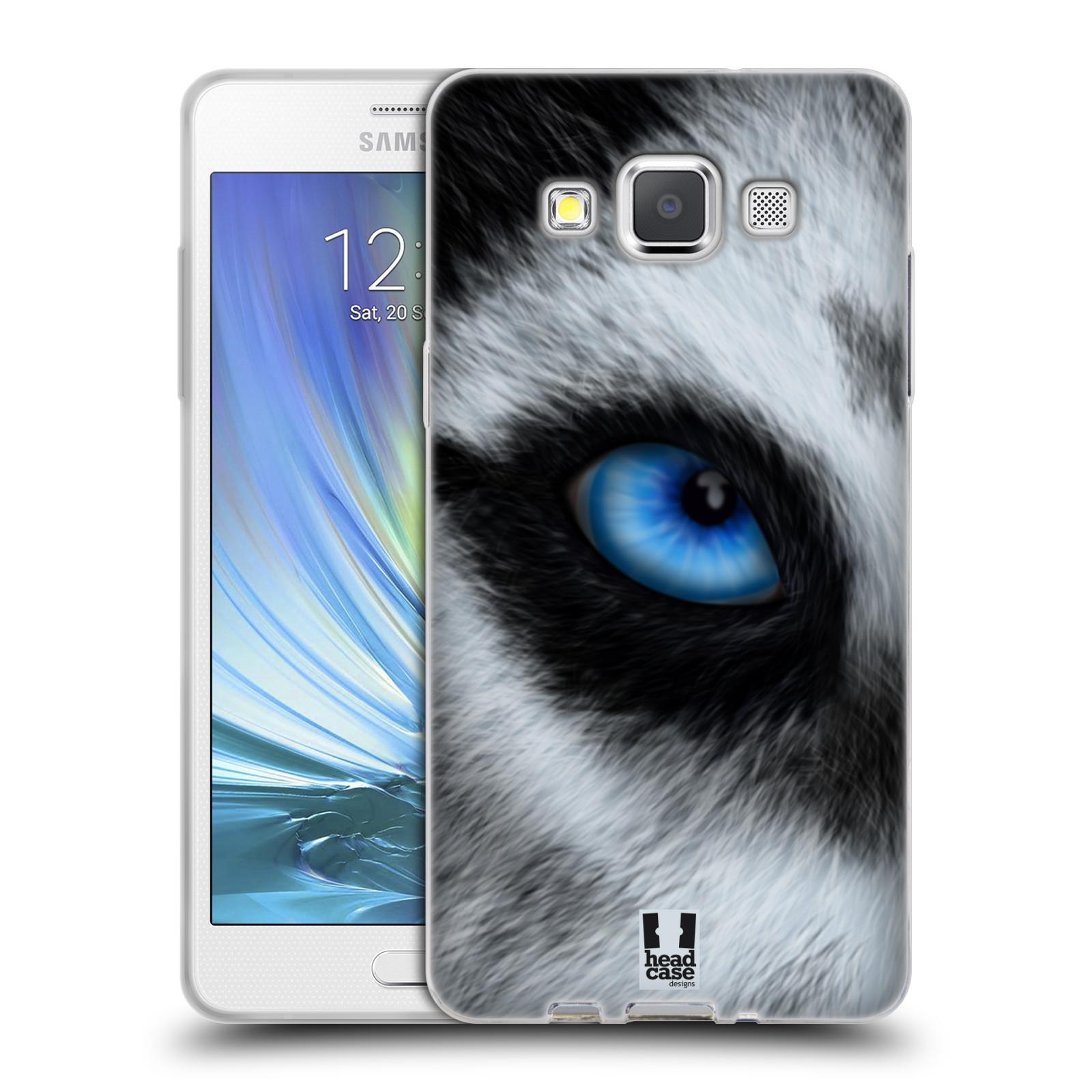 HEAD CASE silikonový obal na mobil Samsung Galaxy A5 vzor pohled zvířete oko pes husky