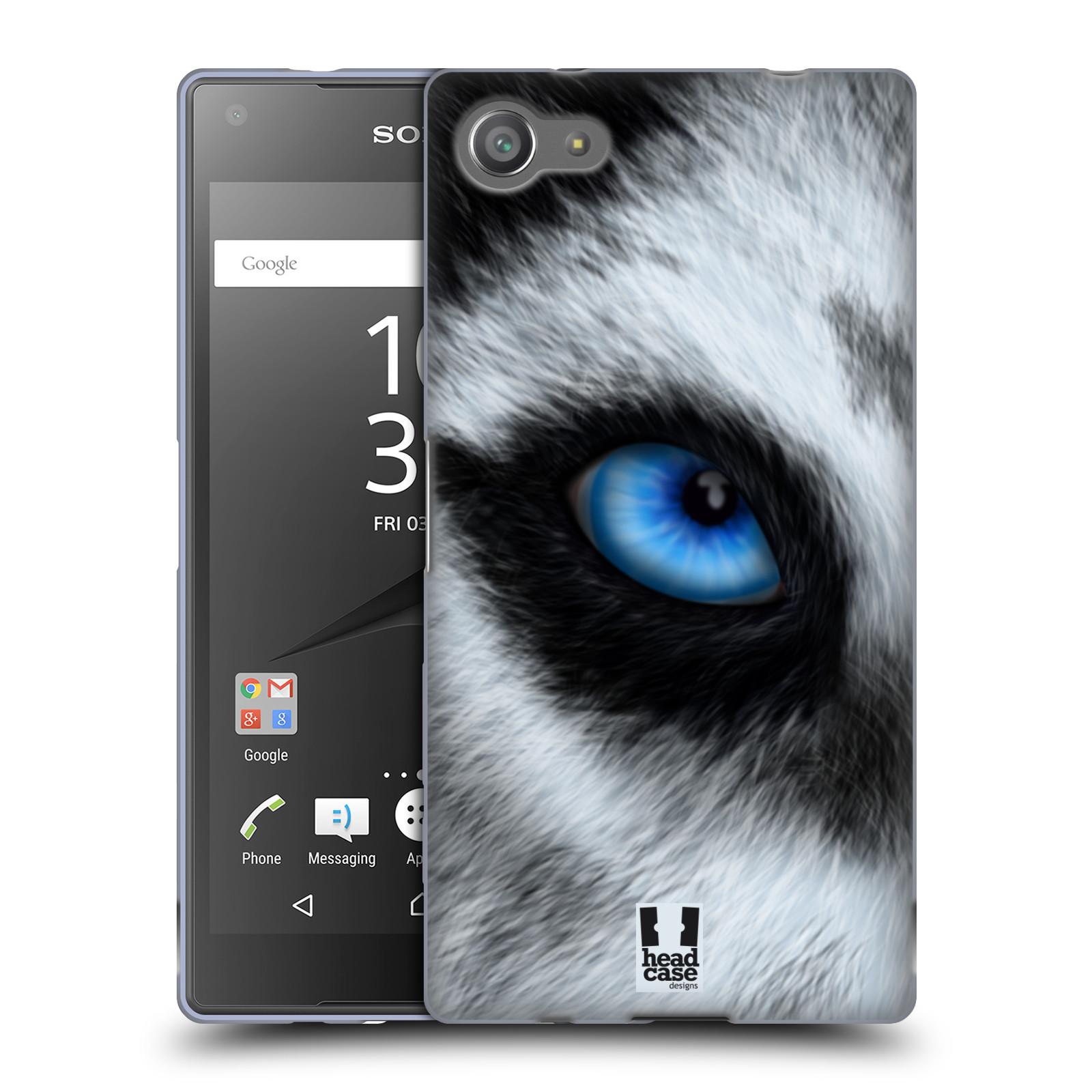 HEAD CASE silikonový obal na mobil Sony Xperia Z5 COMPACT vzor pohled zvířete oko pes husky