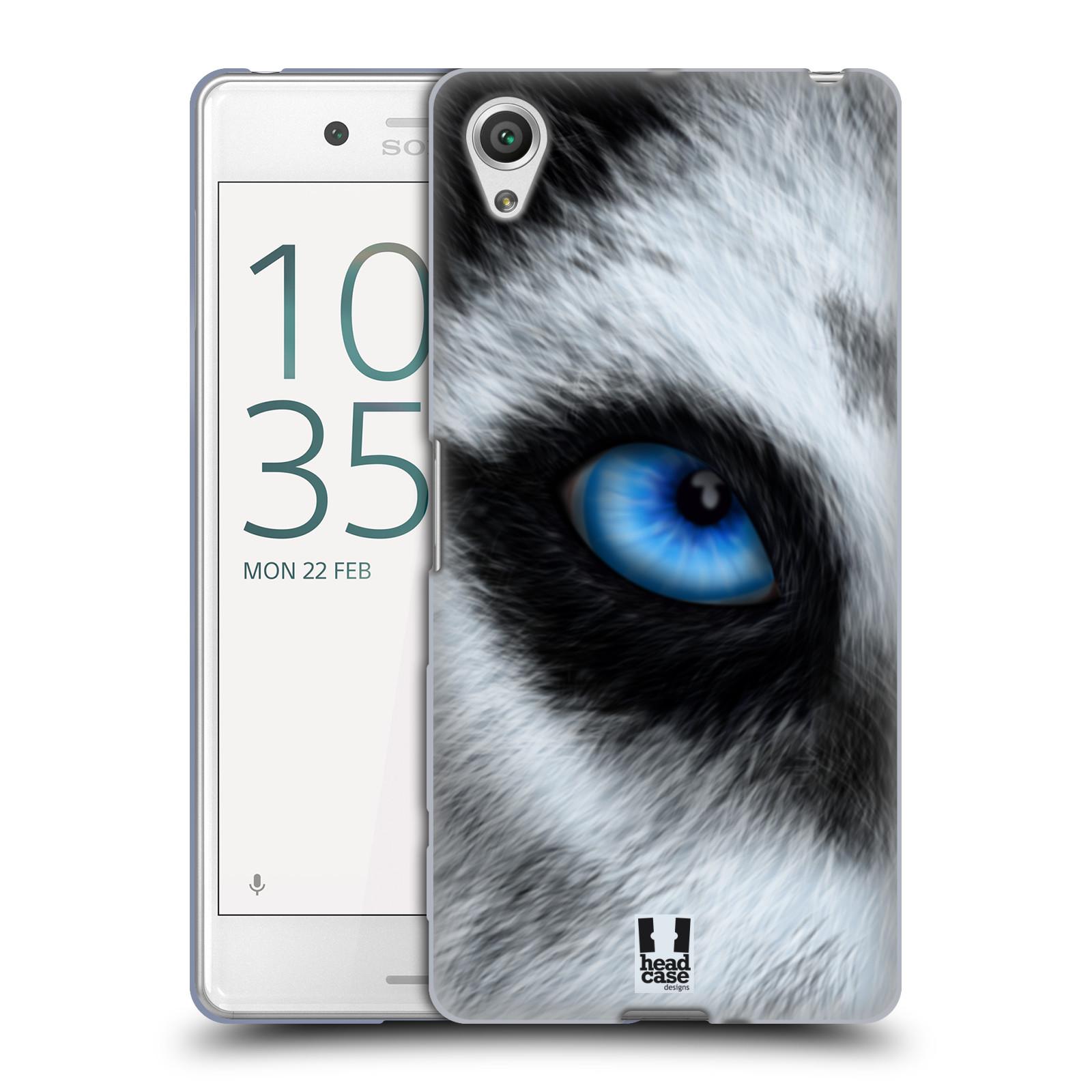 HEAD CASE silikonový obal na mobil Sony Xperia X PERFORMANCE (F8131, F8132) vzor pohled zvířete oko pes husky