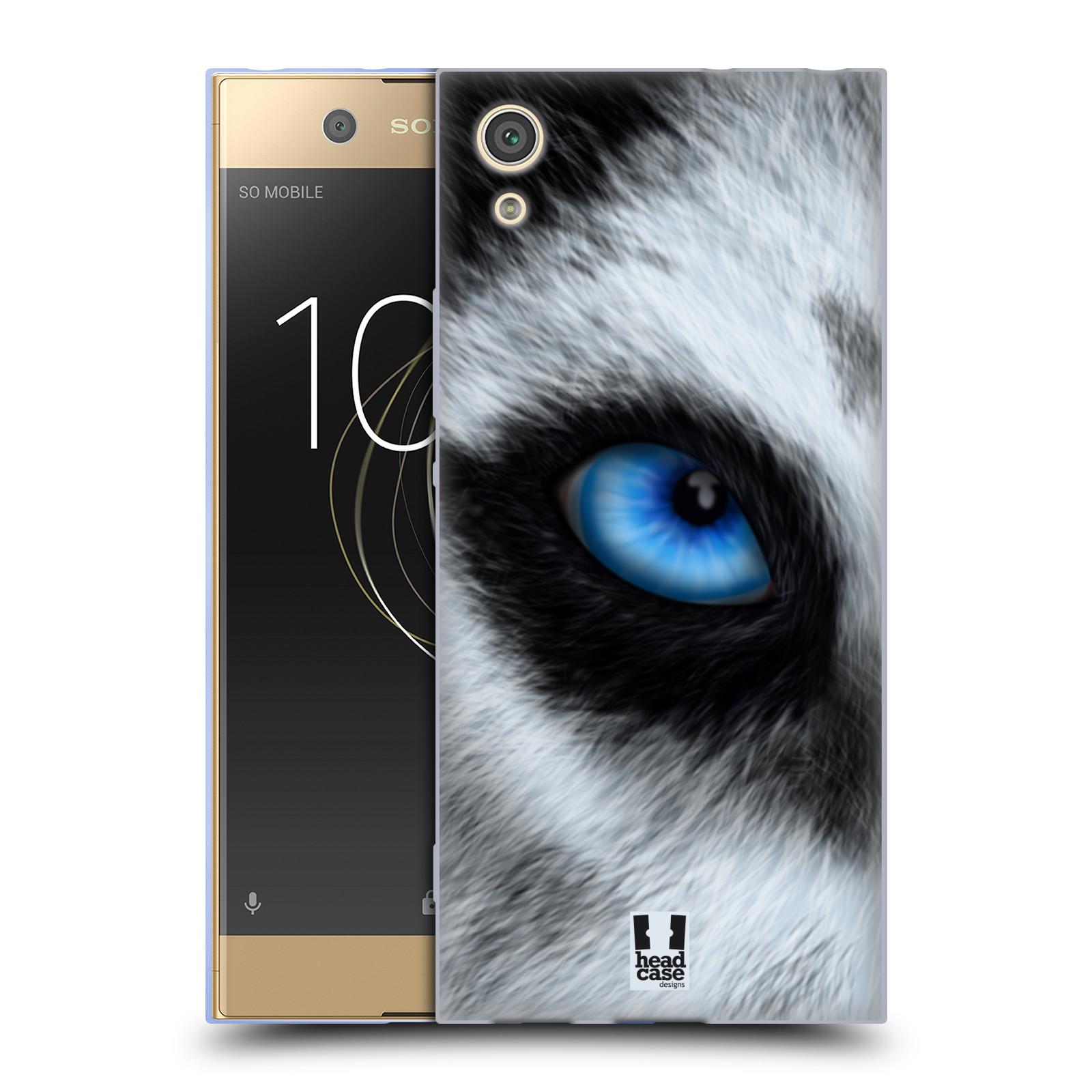 HEAD CASE silikonový obal na mobil Sony Xperia XA1 / XA1 DUAL SIM vzor pohled zvířete oko pes husky