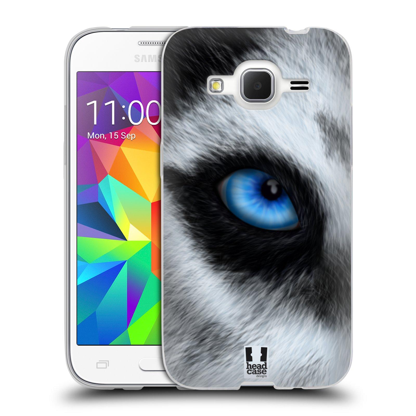 HEAD CASE silikonový obal na mobil Samsung Galaxy Core Prime (G360) vzor pohled zvířete oko pes husky