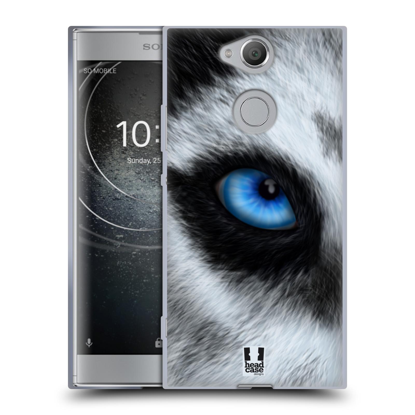 Pouzdro na mobil Sony Xperia XA2 (DUAL SIM, SINGLE SIM) vzor pohled zvířete oko pes husky