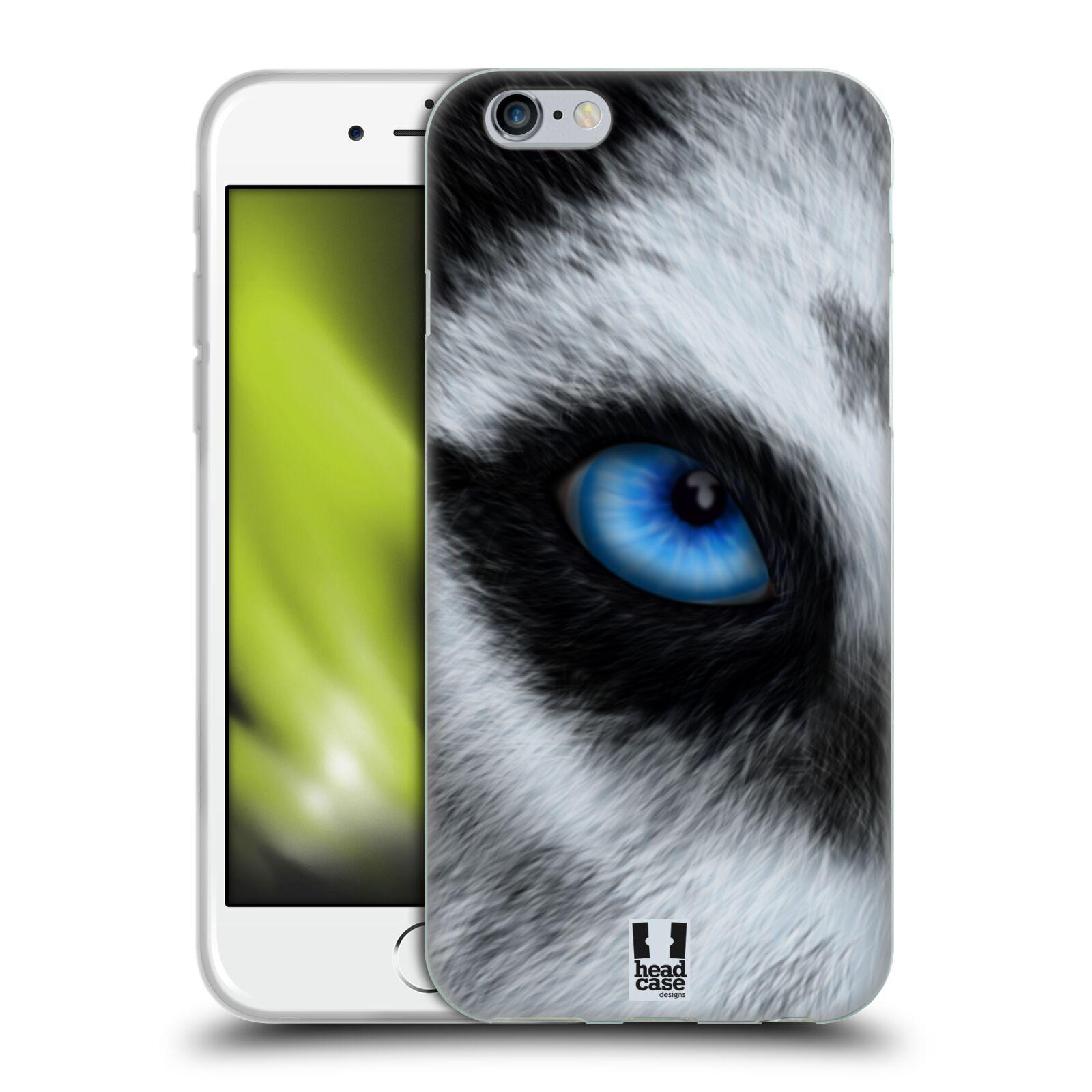 HEAD CASE silikonový obal na mobil Apple Iphone 6/6S vzor pohled zvířete oko pes husky
