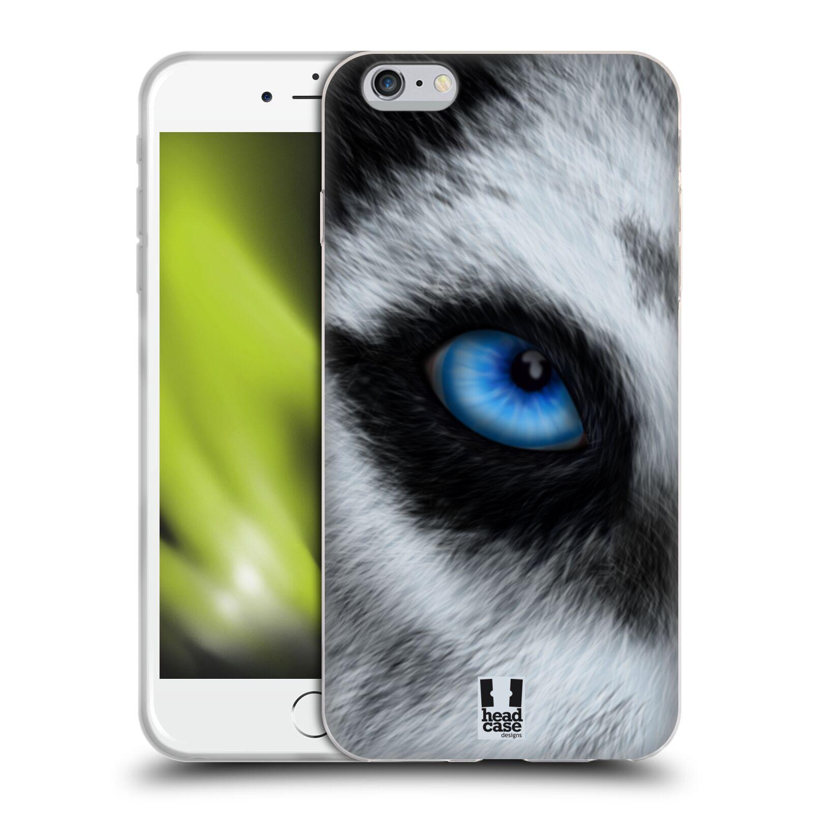 HEAD CASE silikonový obal na mobil Apple Iphone 6 PLUS/ 6S PLUS vzor pohled zvířete oko pes husky