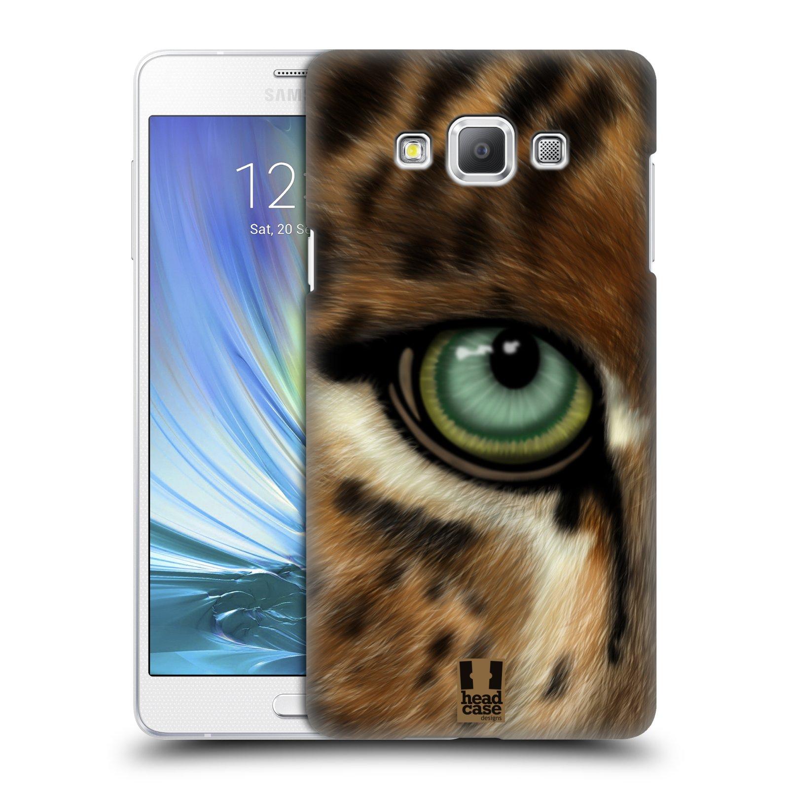 HEAD CASE plastový obal na mobil SAMSUNG GALAXY A7 vzor pohled zvířete oko leopard