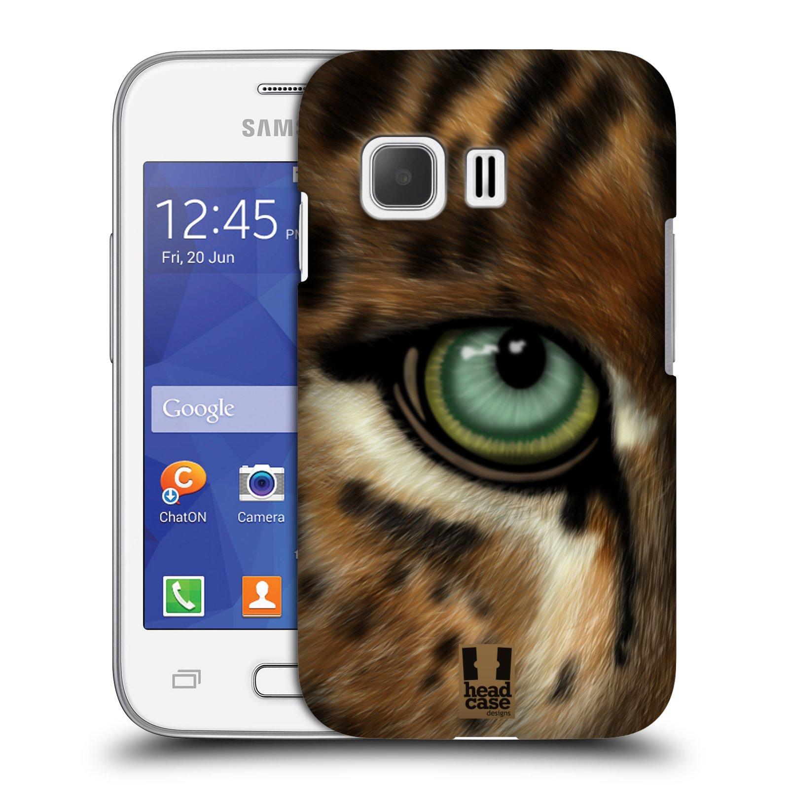HEAD CASE plastový obal na mobil SAMSUNG Galaxy Young 2 (G130) vzor pohled zvířete oko leopard