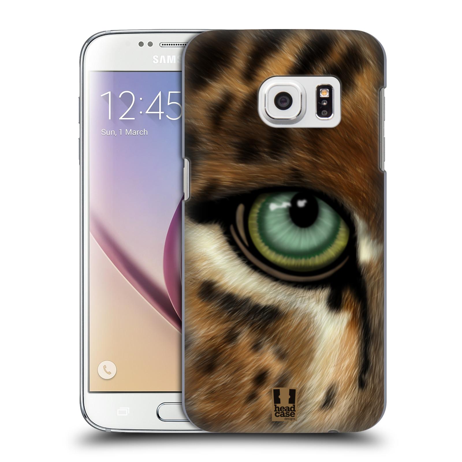 HEAD CASE plastový obal na mobil SAMSUNG GALAXY S7 vzor pohled zvířete oko leopard