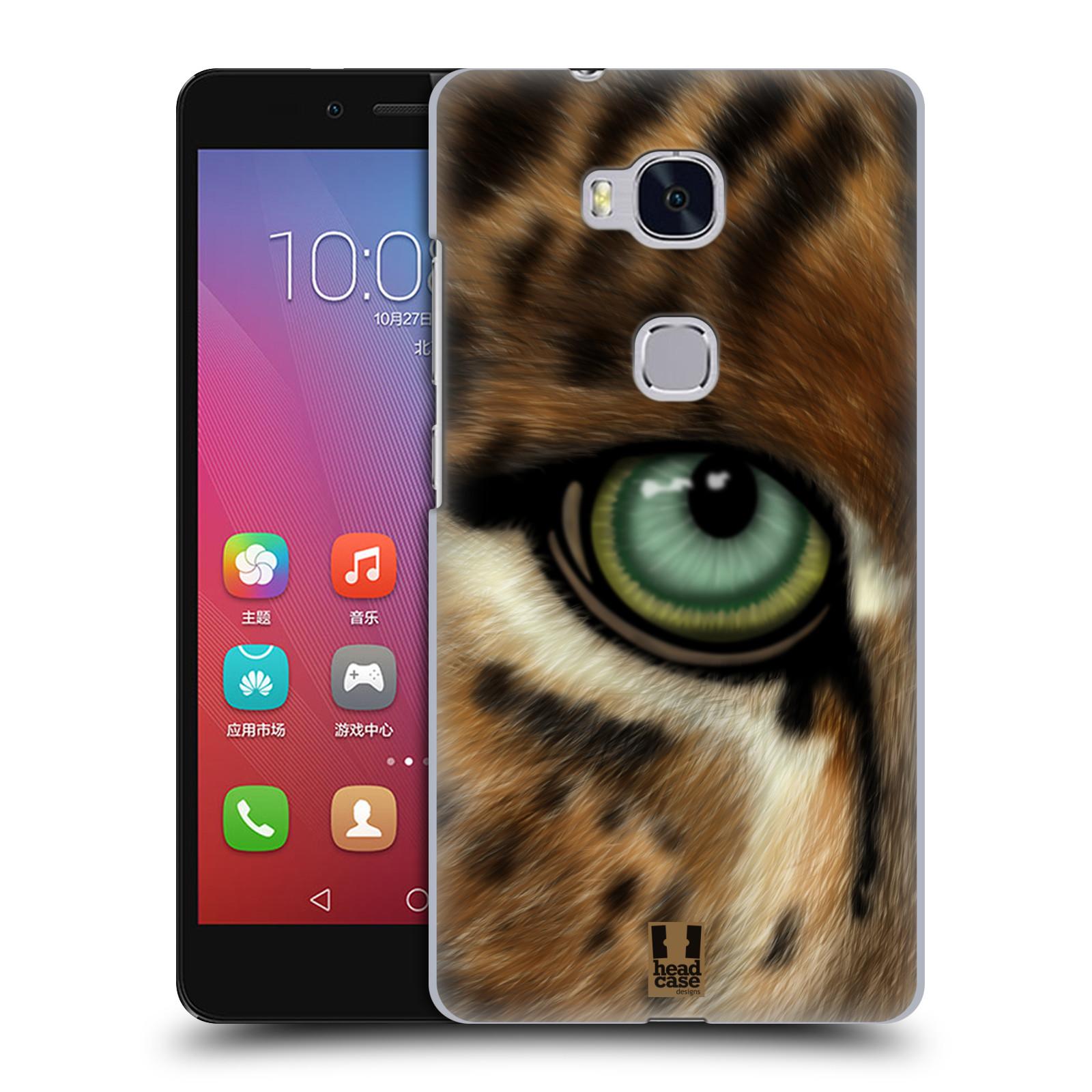 HEAD CASE pevný plastový obal na mobil HUAWEI HONOR 5X vzor pohled zvířete oko leopard
